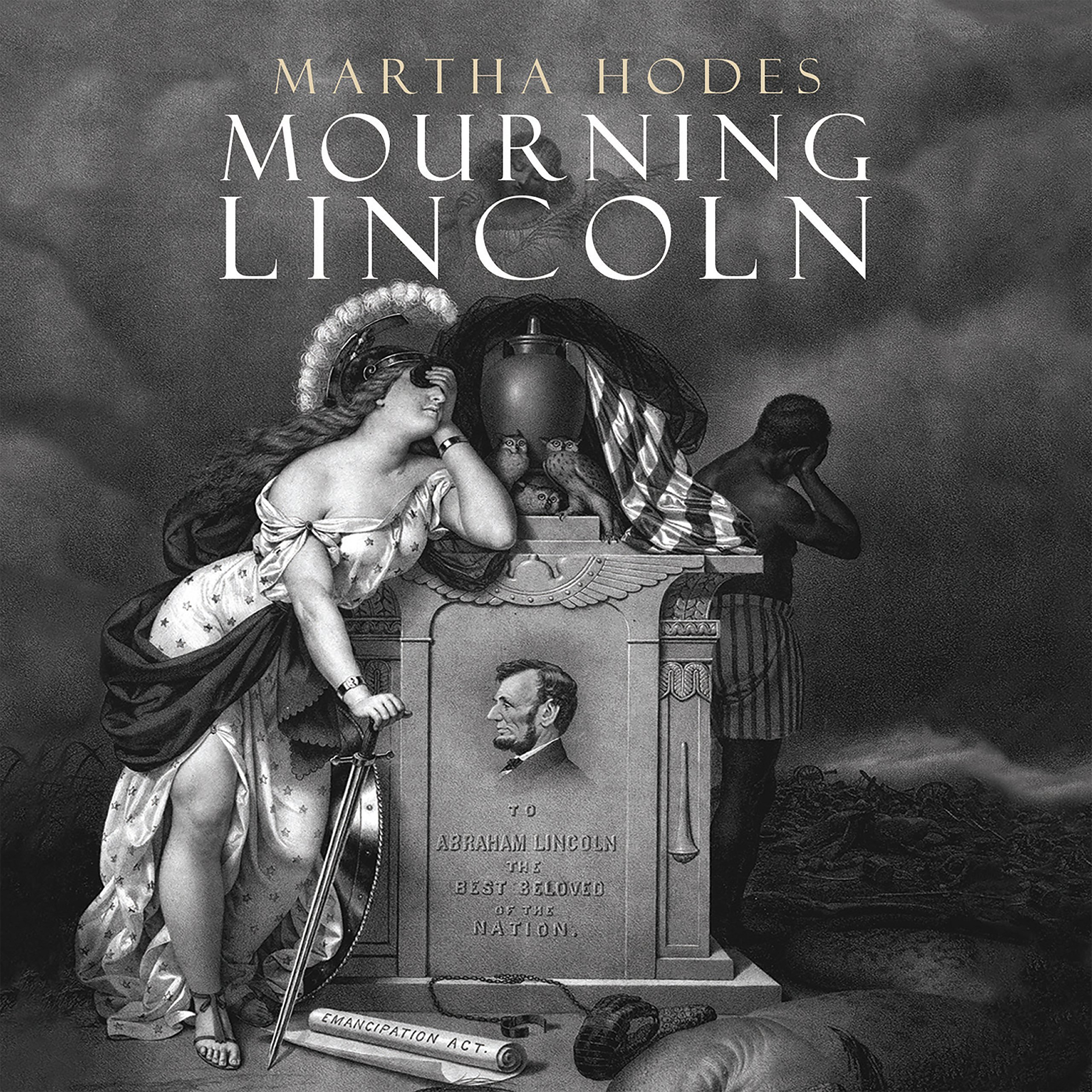 Printable Mourning Lincoln Audiobook Cover Art