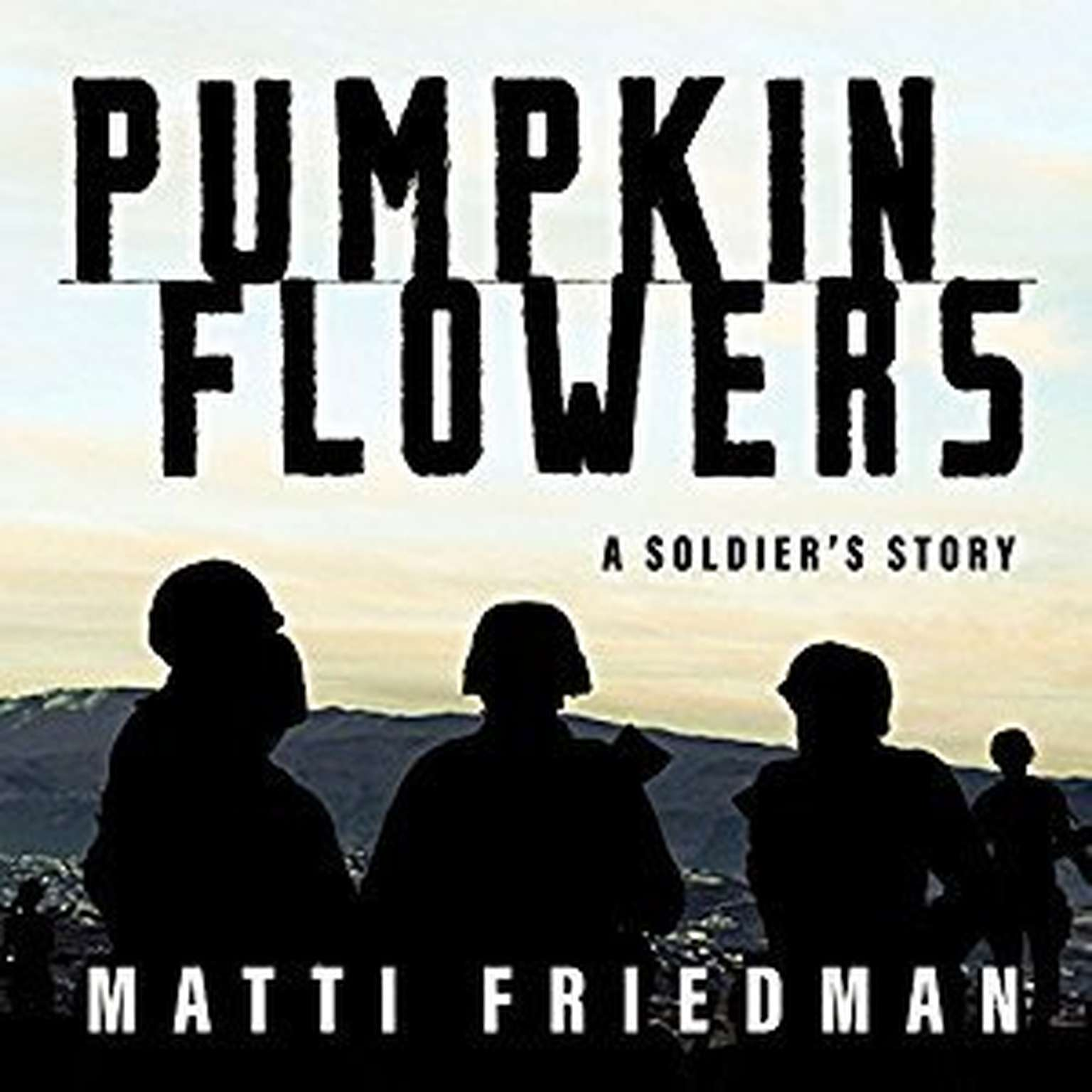 Printable Pumpkinflowers: A Soldier's Story Audiobook Cover Art