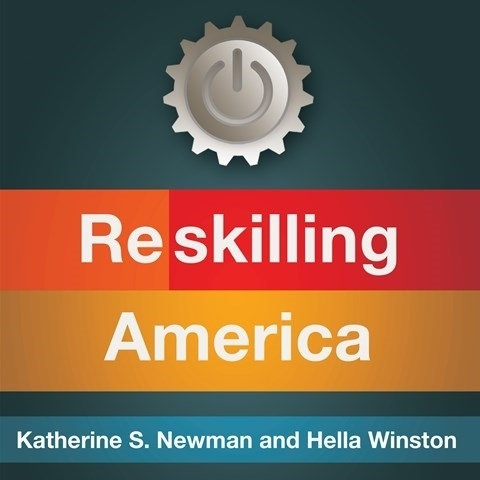 Printable Reskilling America: Learning to Labor in the 21st Century Audiobook Cover Art