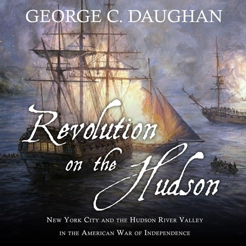 Printable Revolution on the Hudson: New York City and the Hudson River Valley in the American War of Independence Audiobook Cover Art