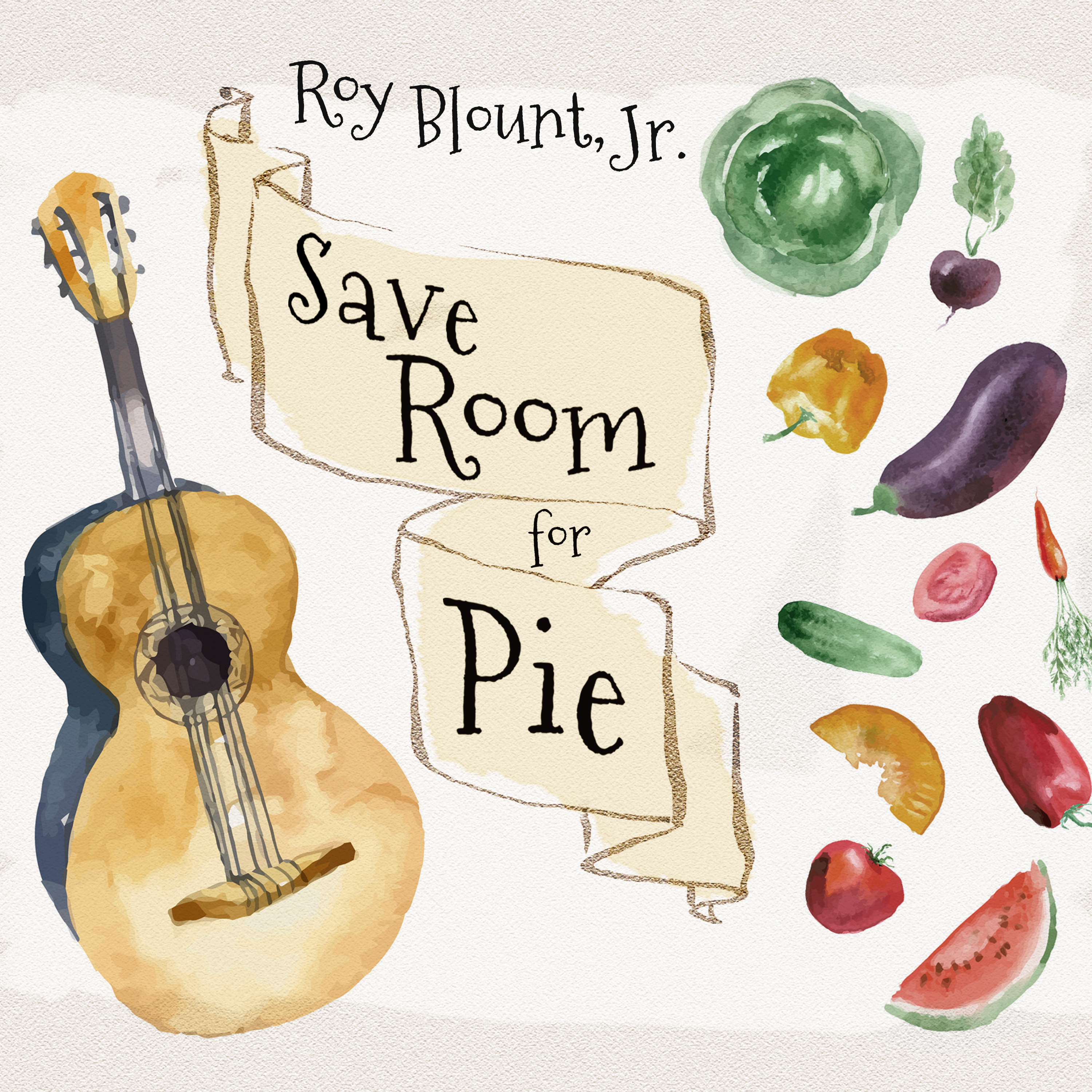 Printable Save Room for Pie: Food Songs and Chewy Ruminatons Audiobook Cover Art