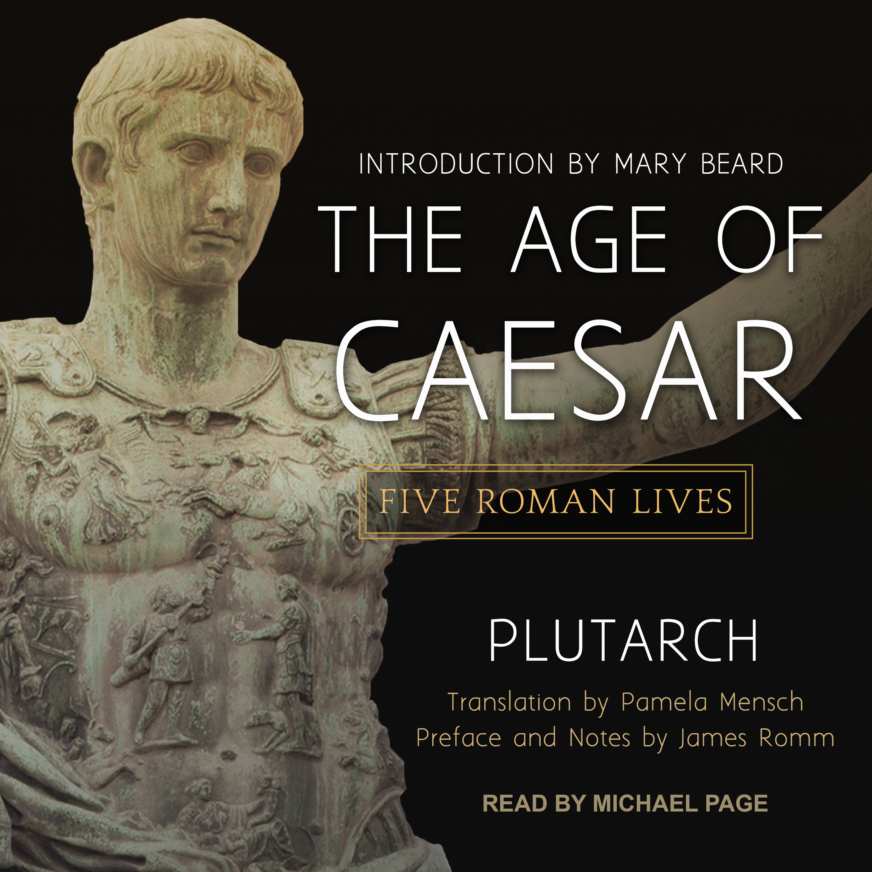 Printable The Age of Caesar: Five Roman Lives Audiobook Cover Art