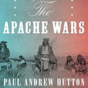 Printable The Apache Wars: The Hunt for Geronimo, the Apache Kid, and the Captive Boy Who Started the Longest War in American History Audiobook Cover Art