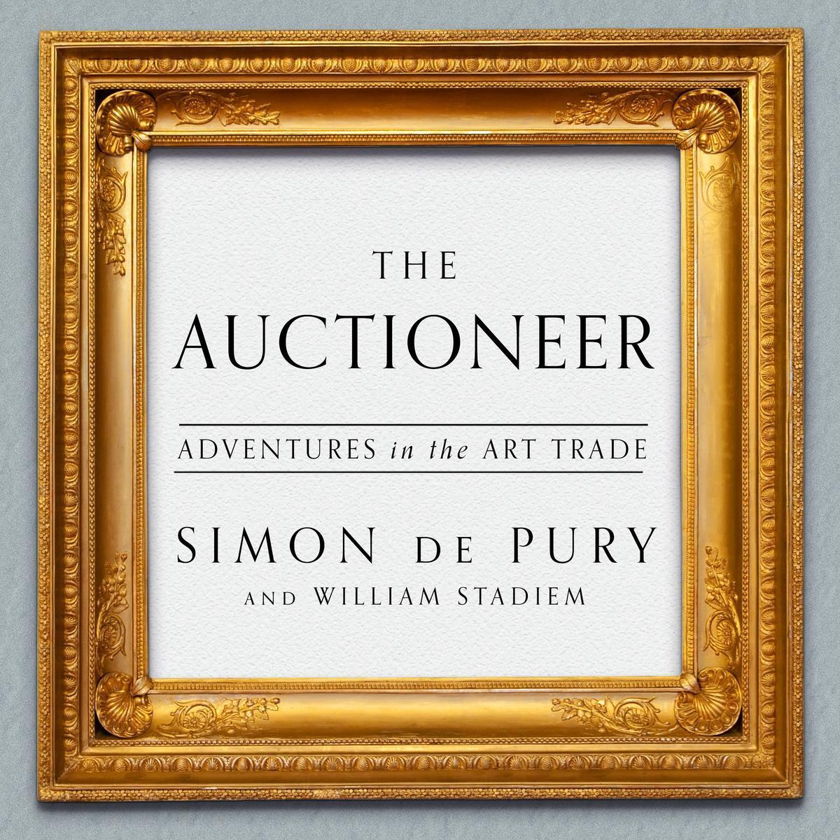 Printable The Auctioneer: Adventures in the Art Trade Audiobook Cover Art