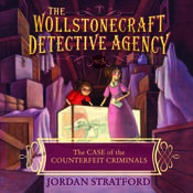 The Case of the Counterfeit Criminals Audiobook, by Jordan Stratford