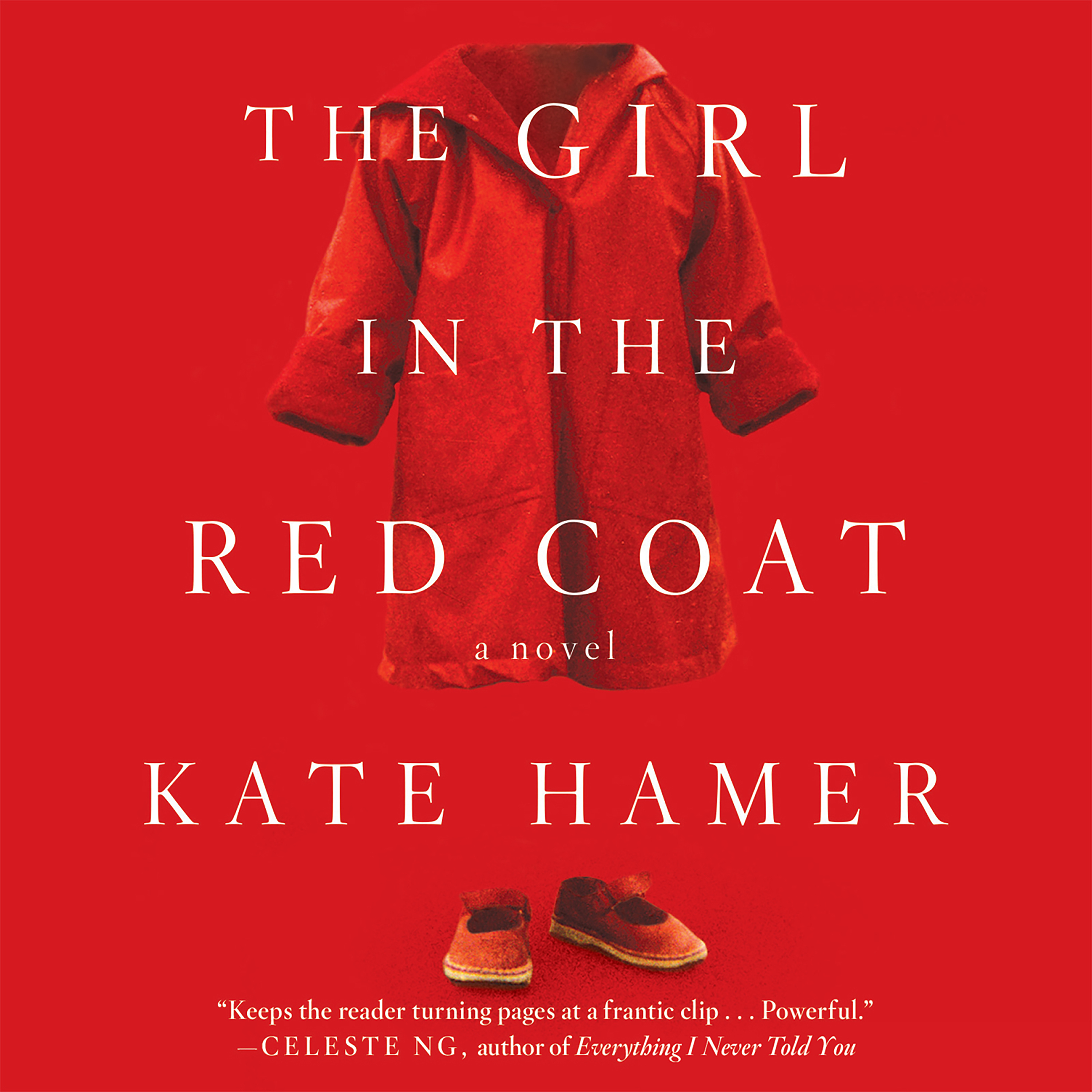 Printable The Girl in the Red Coat Audiobook Cover Art