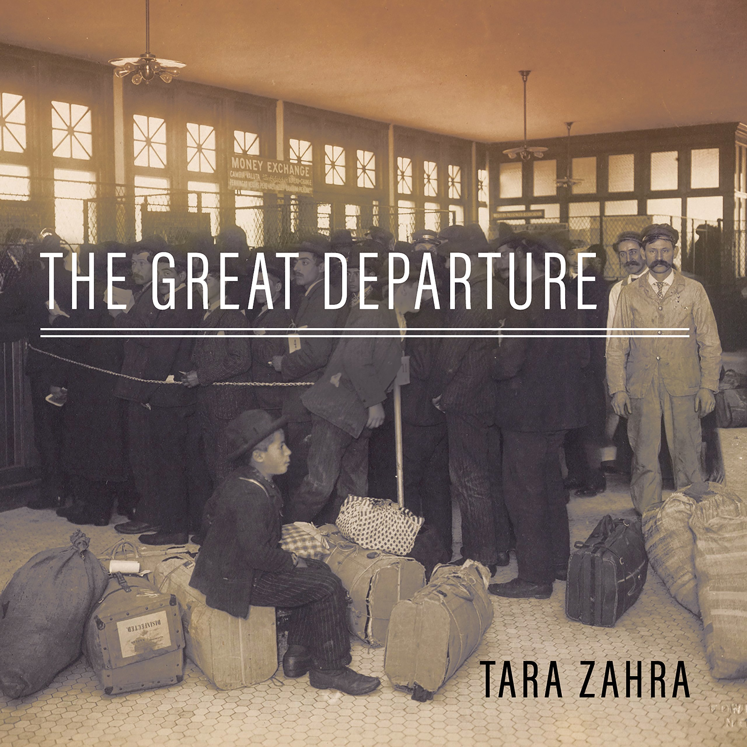 Printable The Great Departure: Mass Migration from Eastern Europe and the Making of the Free World Audiobook Cover Art