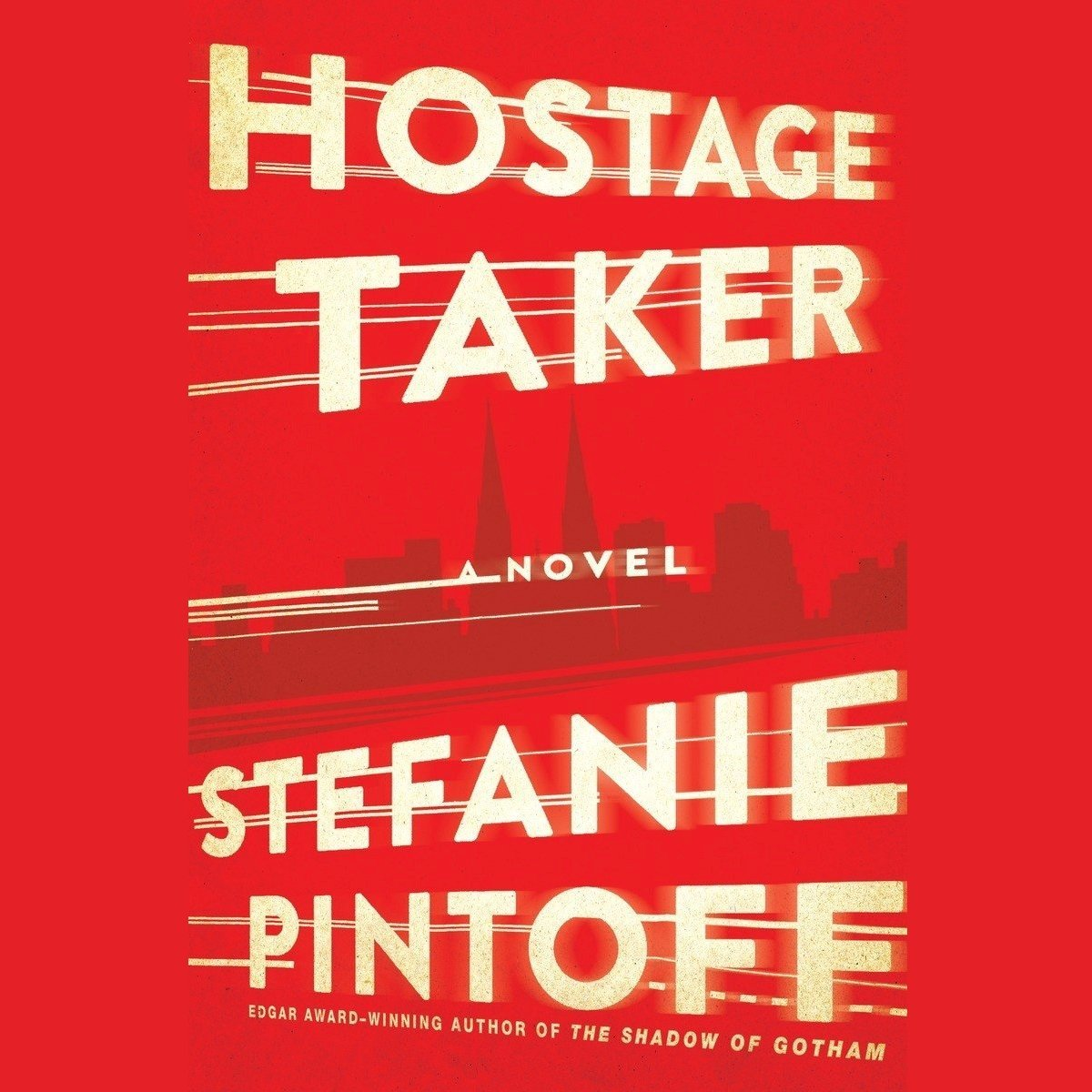 Printable The Hostage Taker Audiobook Cover Art