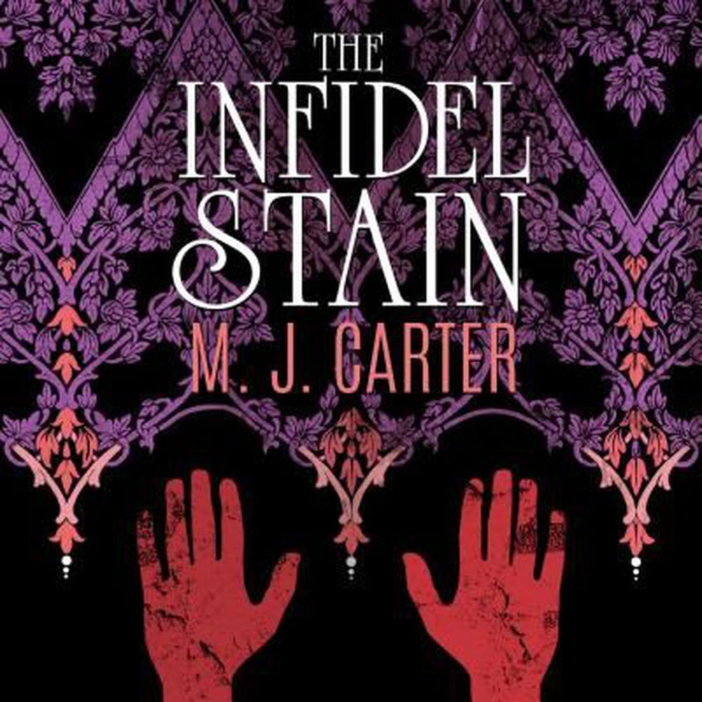 Printable The Infidel Stain Audiobook Cover Art
