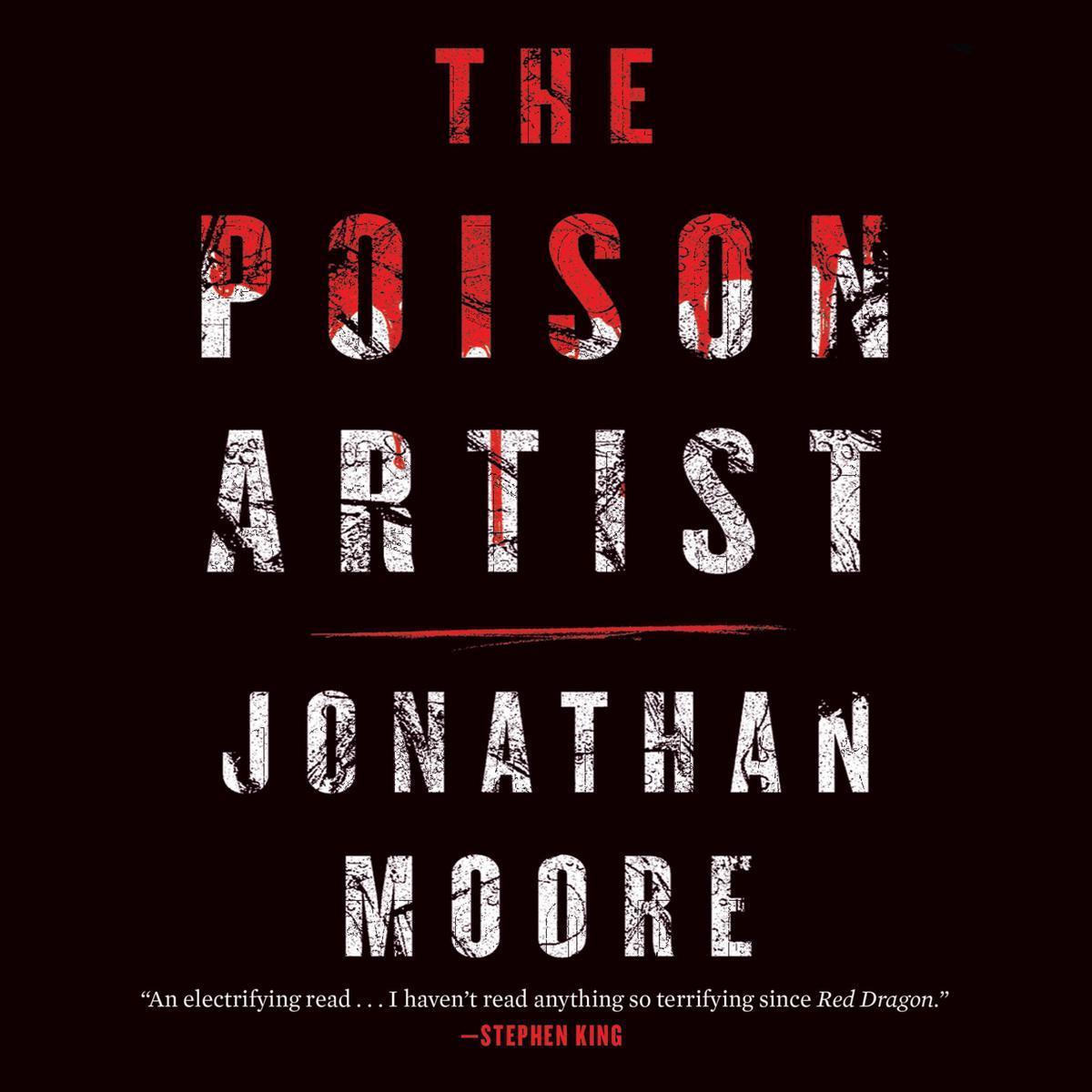 Printable The Poison Artist Audiobook Cover Art