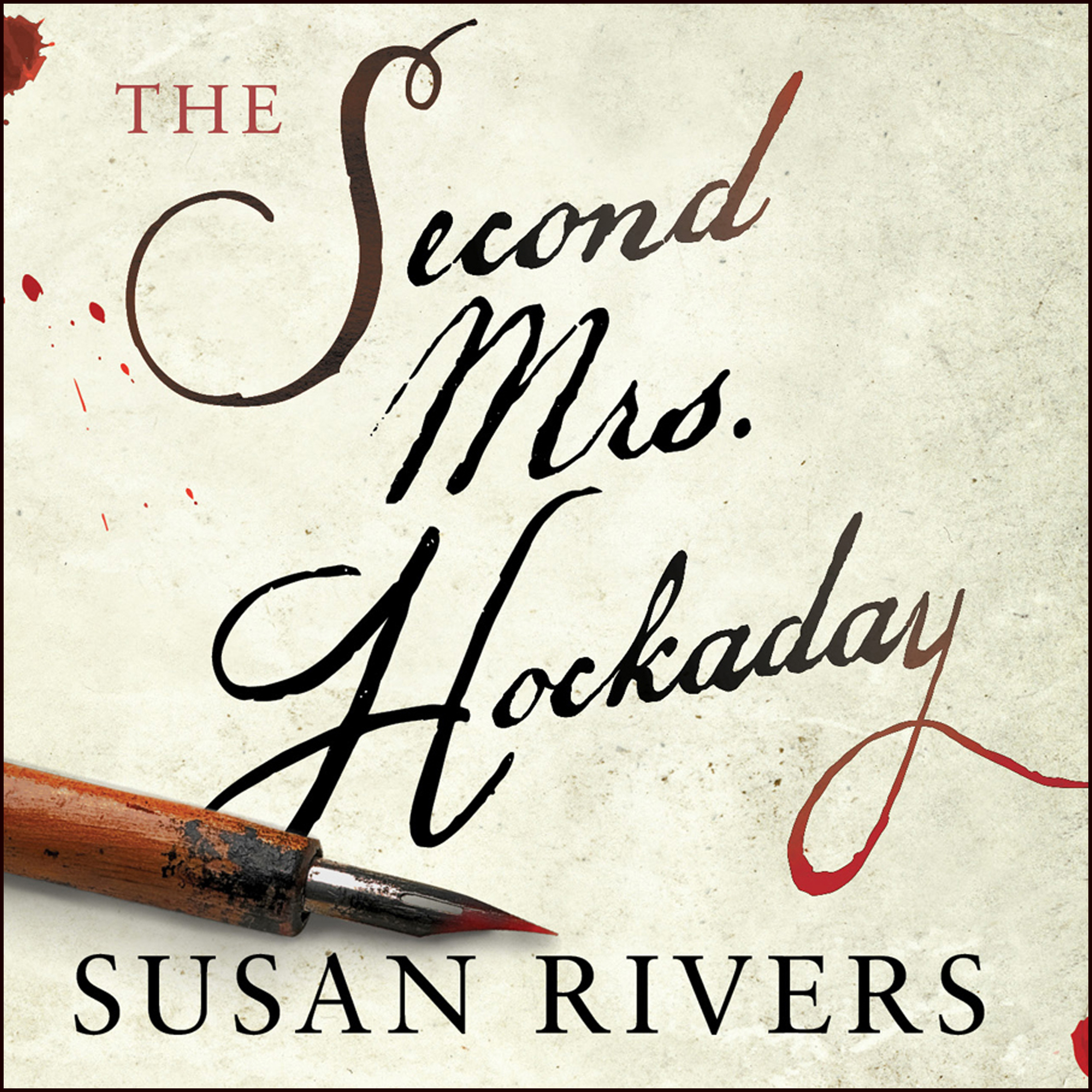 Printable The Second Mrs. Hockaday Audiobook Cover Art
