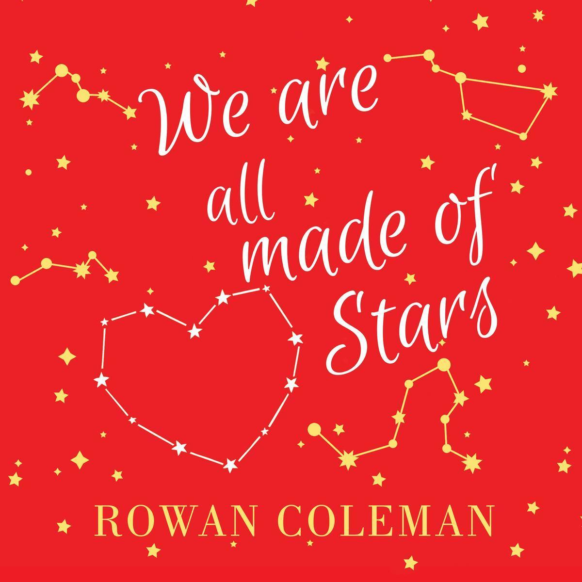 Printable We Are All Made of Stars: A Novel Audiobook Cover Art