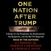 One Nation After Trump: A Guide for the Perplexed, the Disillusioned, the Desperate, and the Not-Yet Deported Audiobook, by E. J. Dionne