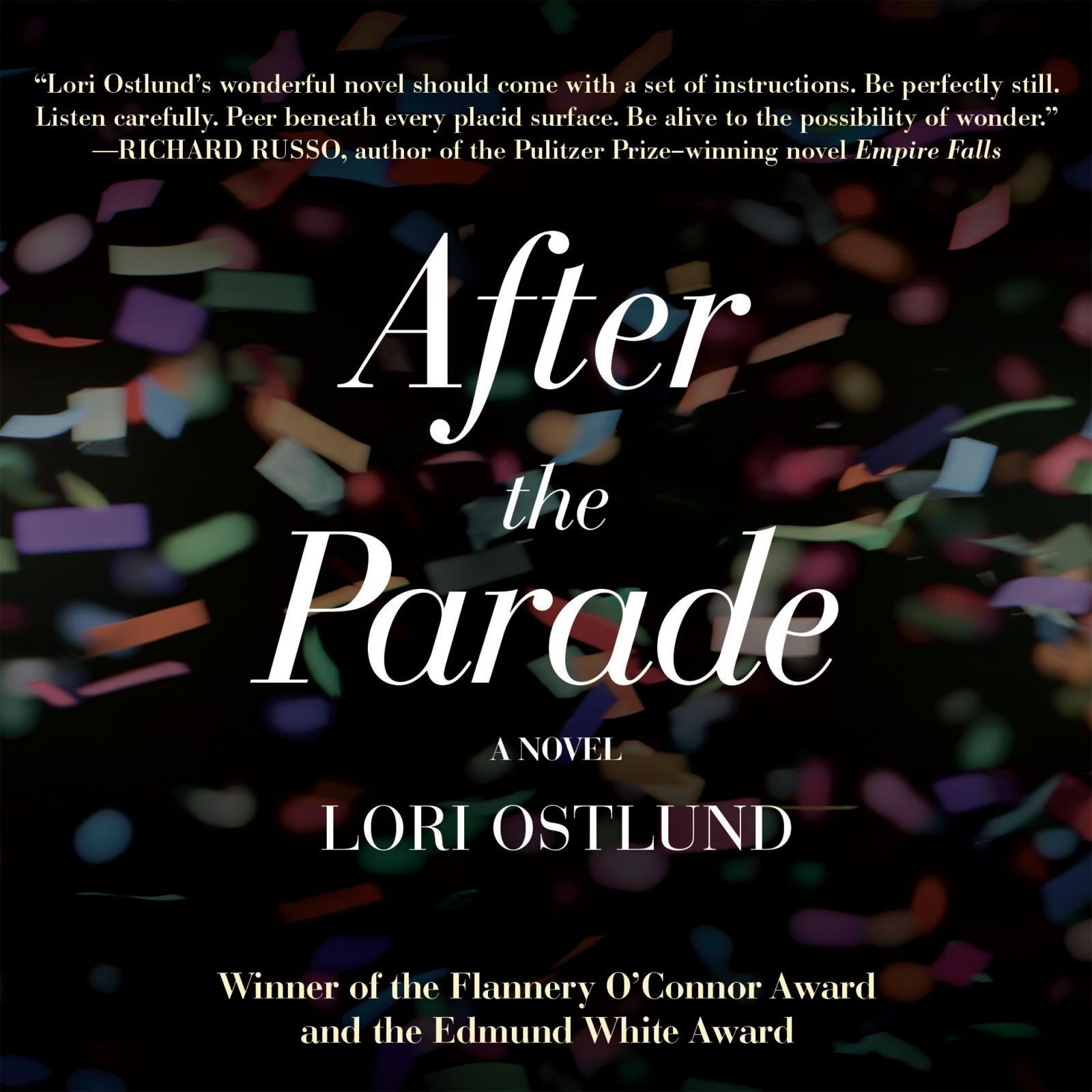 Printable After the Parade Audiobook Cover Art