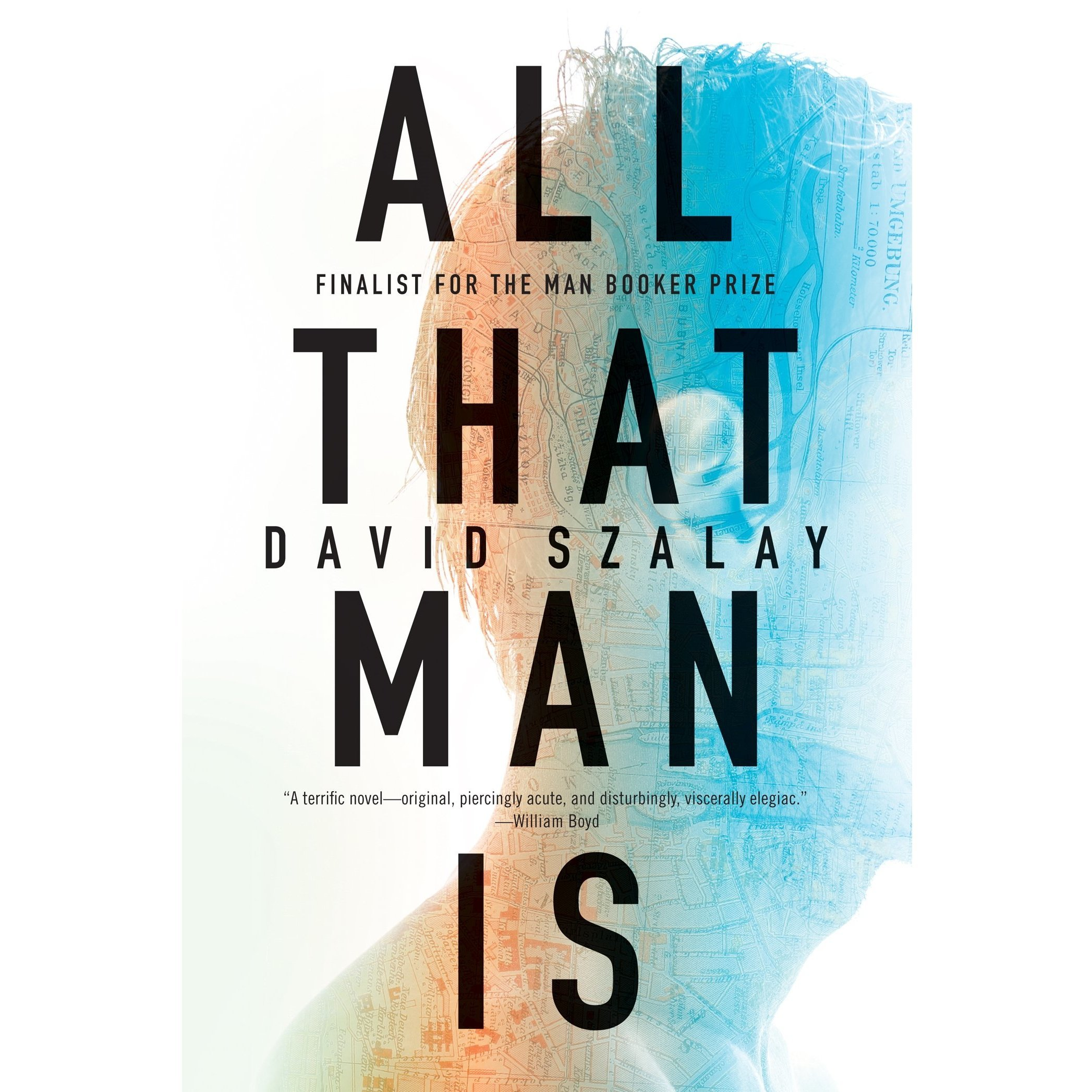 Printable All That Man Is Audiobook Cover Art