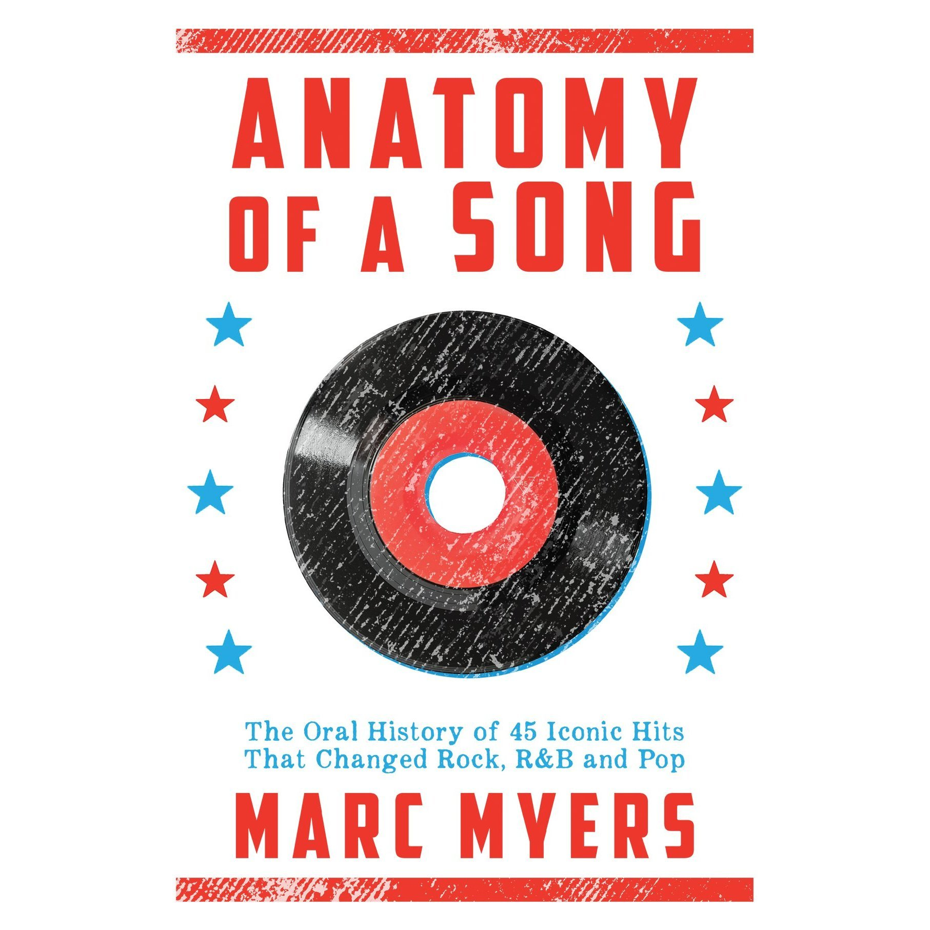 Printable Anatomy of a Song: The Oral History of 45 Iconic Hits That Changed Rock, R&B and Pop Audiobook Cover Art