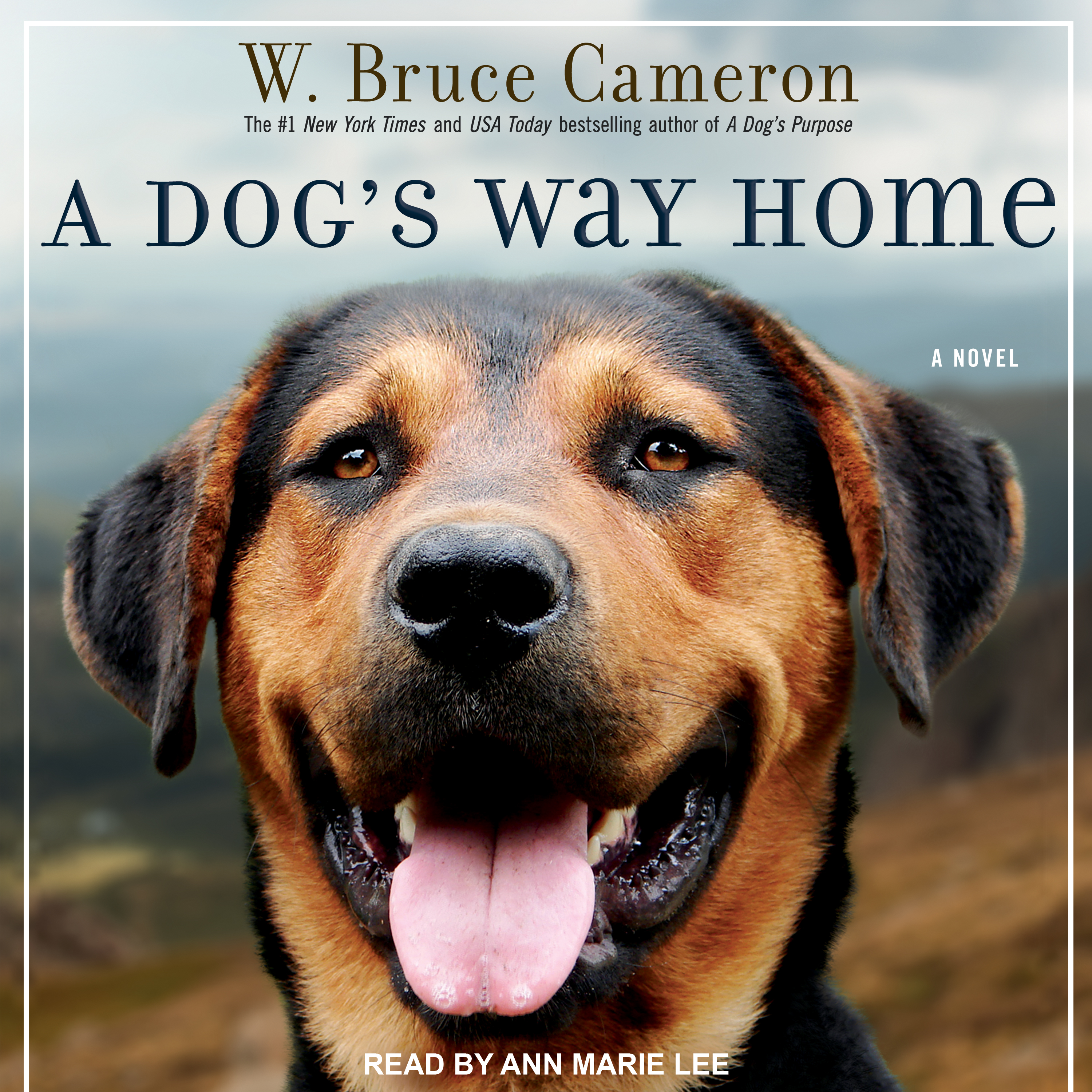 Printable A Dog's Way Home Audiobook Cover Art