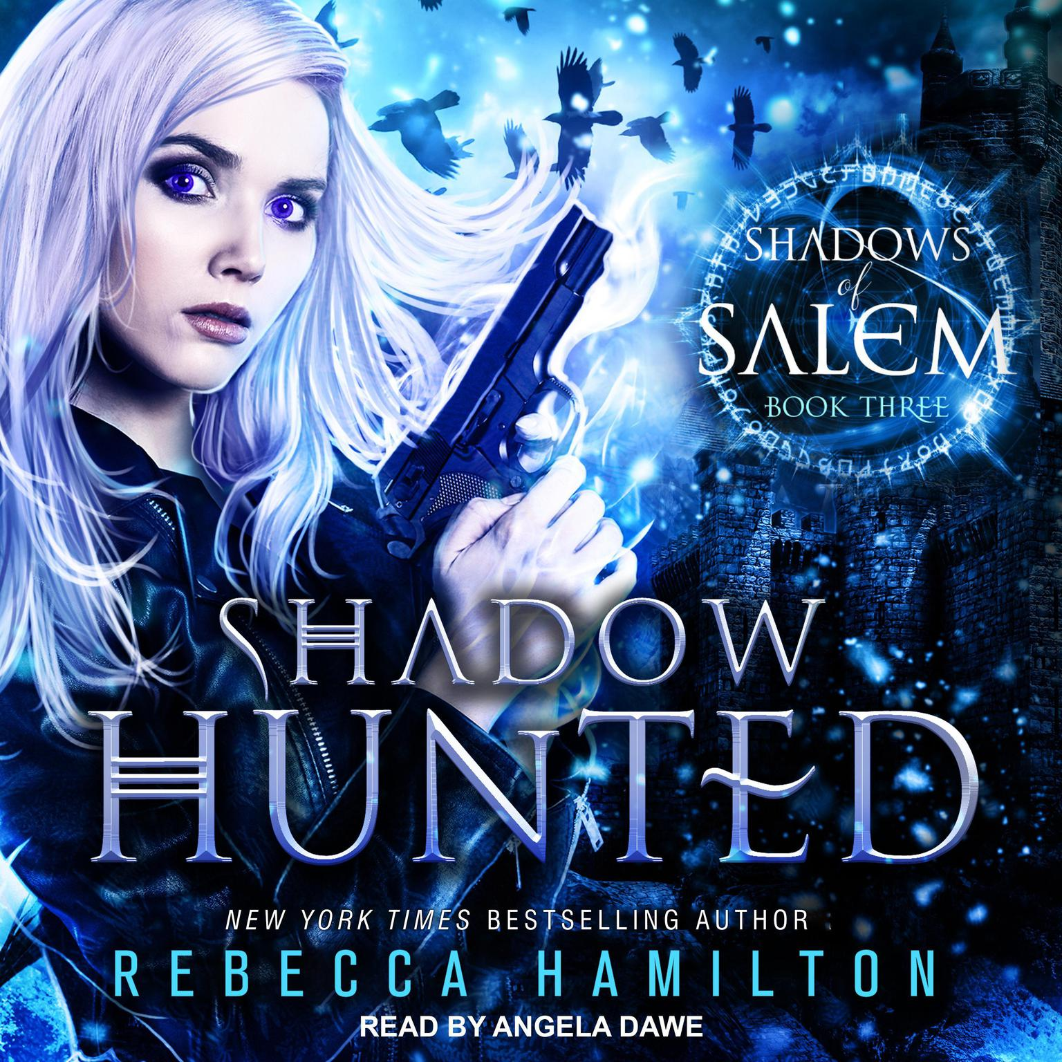 Printable Shadow Hunted Audiobook Cover Art