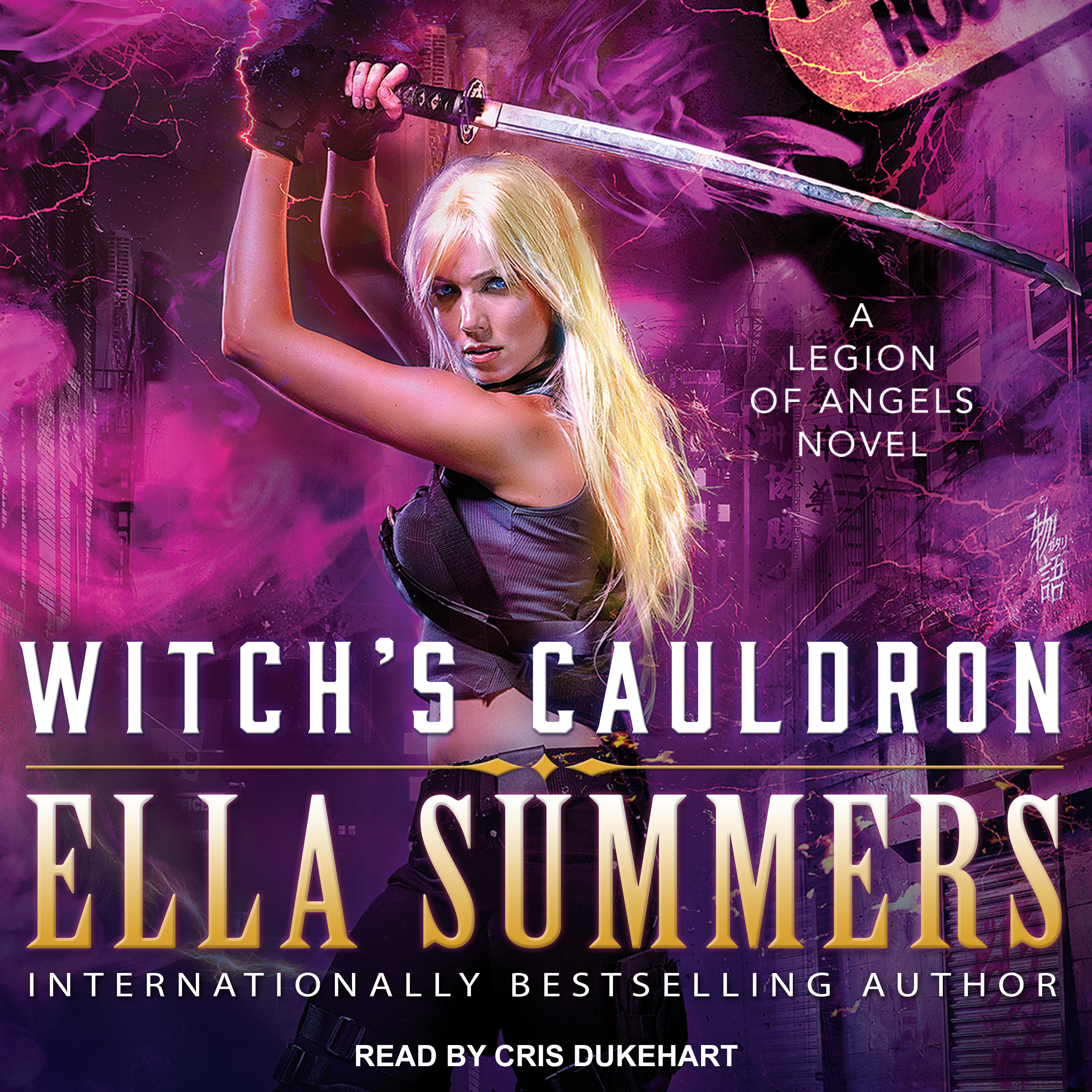 Printable Witch's Cauldron Audiobook Cover Art