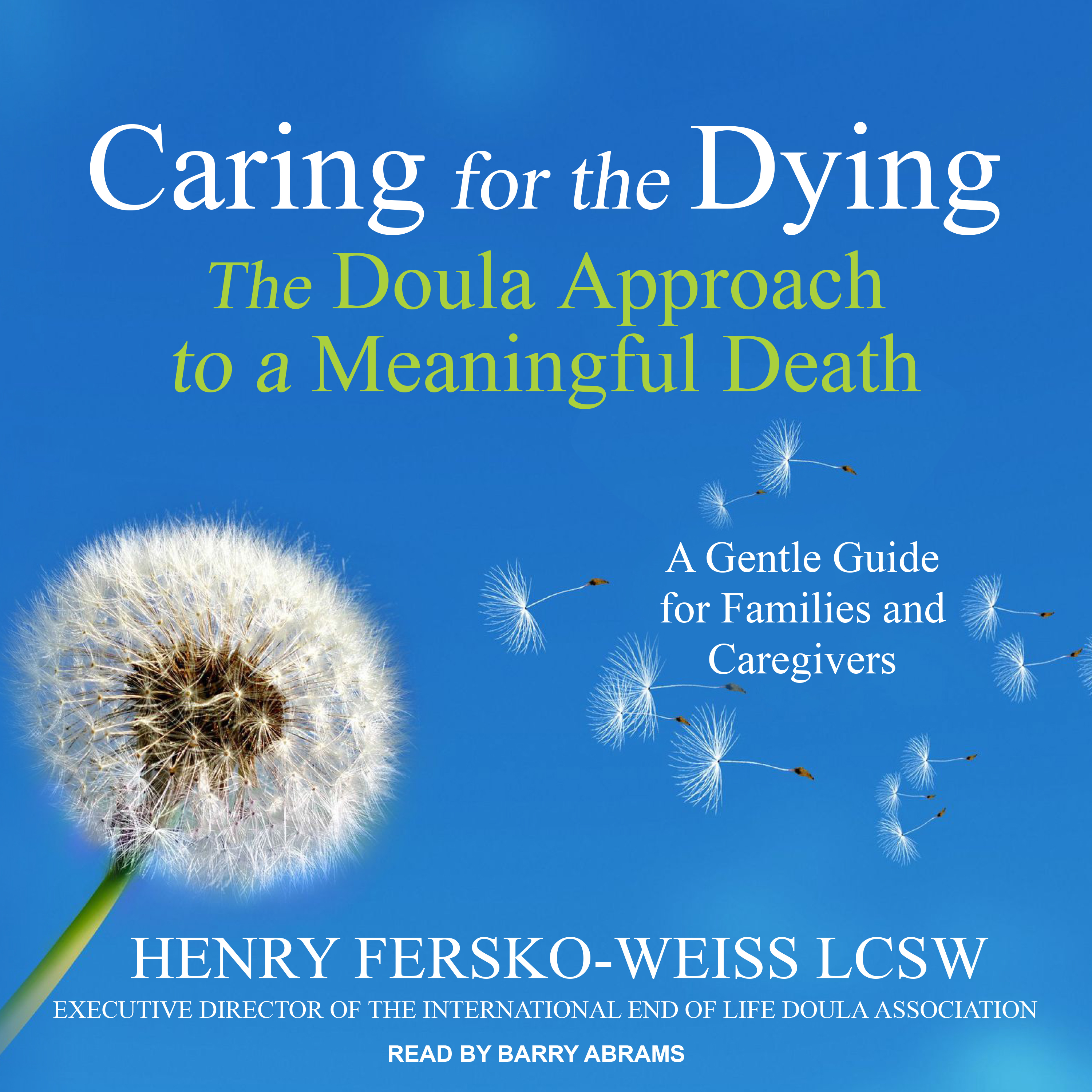 Printable Caring for the Dying: The Doula Approach to a Meaningful Death Audiobook Cover Art
