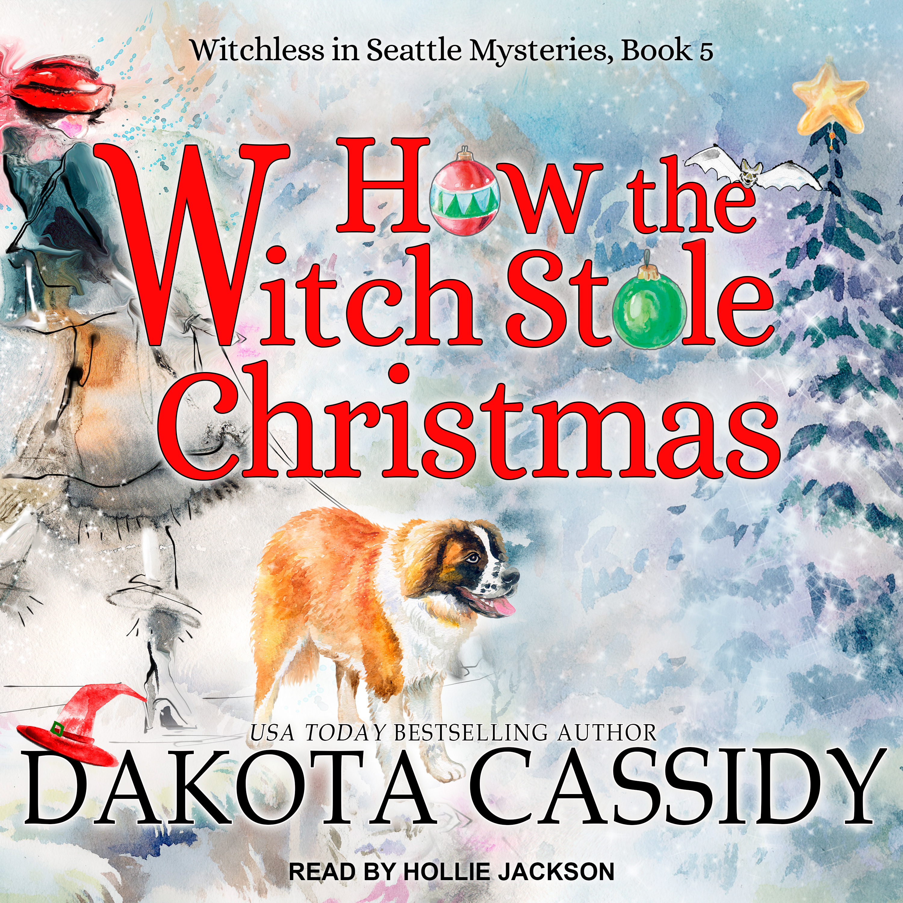 Printable How the Witch Stole Christmas Audiobook Cover Art