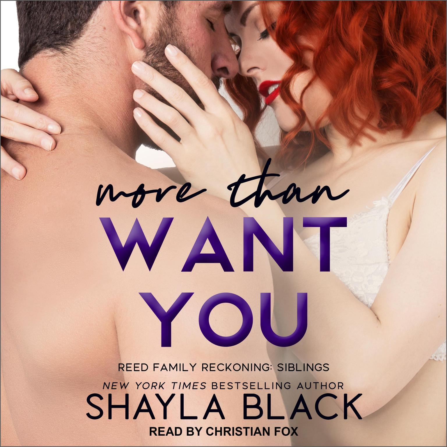 Printable More Than Want You Audiobook Cover Art