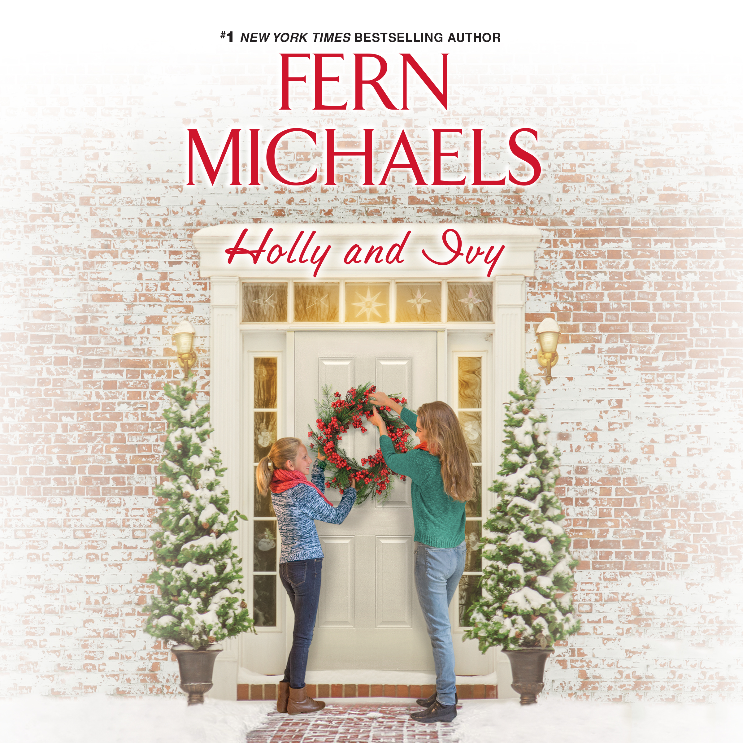 Printable Holly and Ivy Audiobook Cover Art