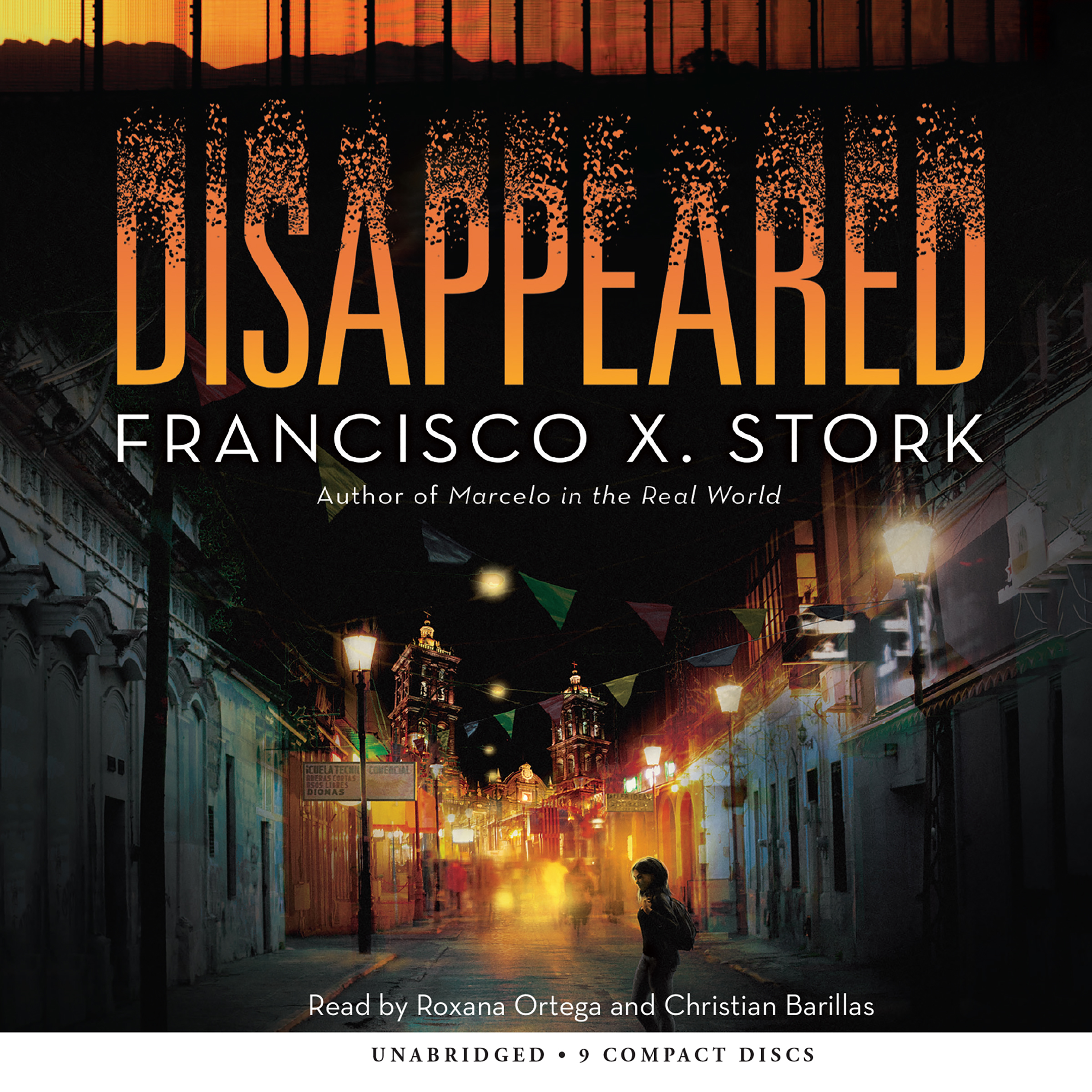 Printable Disappeared Audiobook Cover Art