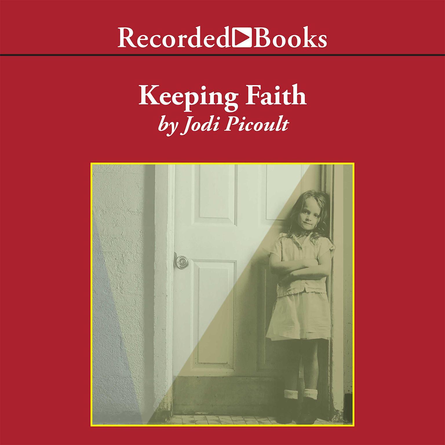 Printable Keeping Faith Audiobook Cover Art