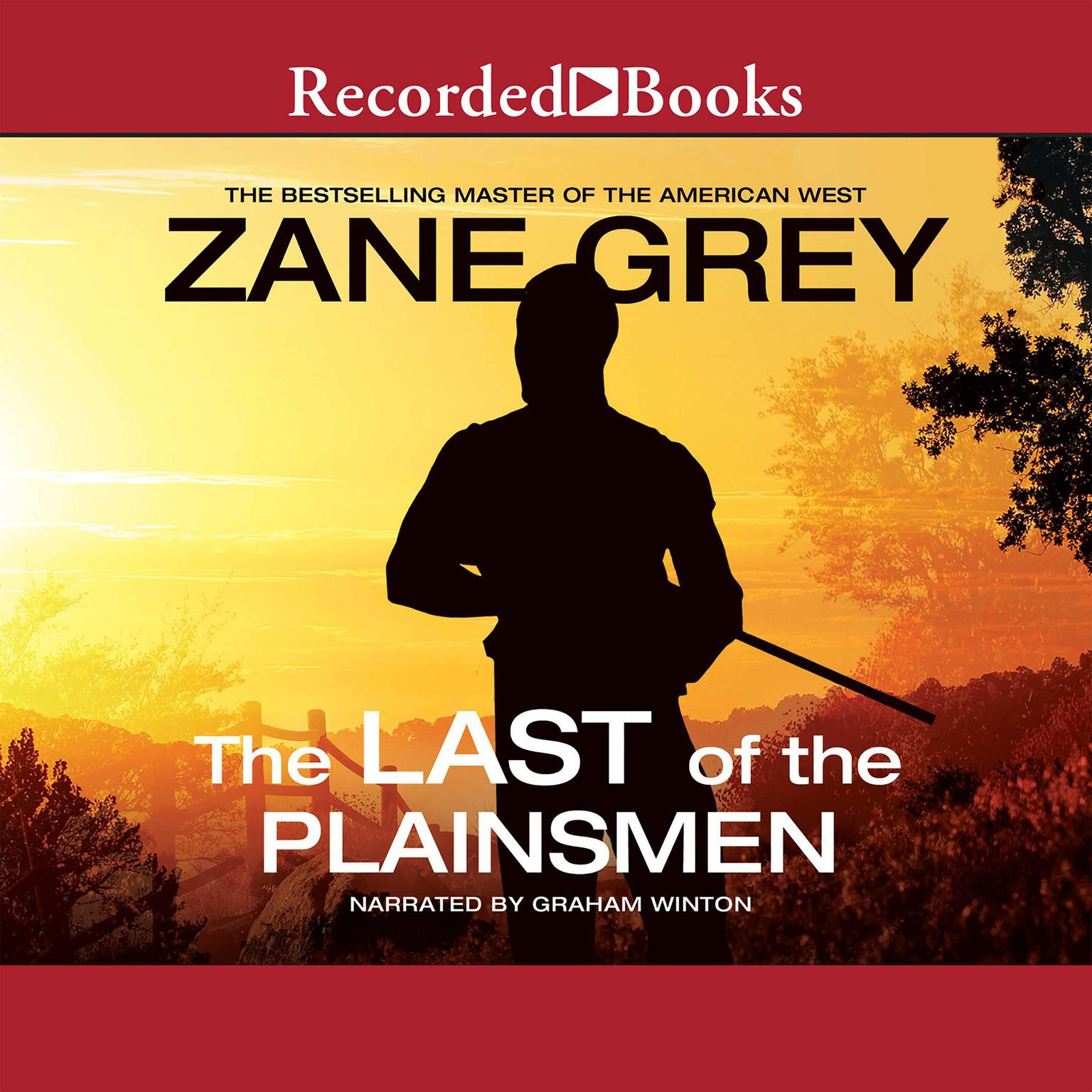 Printable The Last of the Plainsmen Audiobook Cover Art