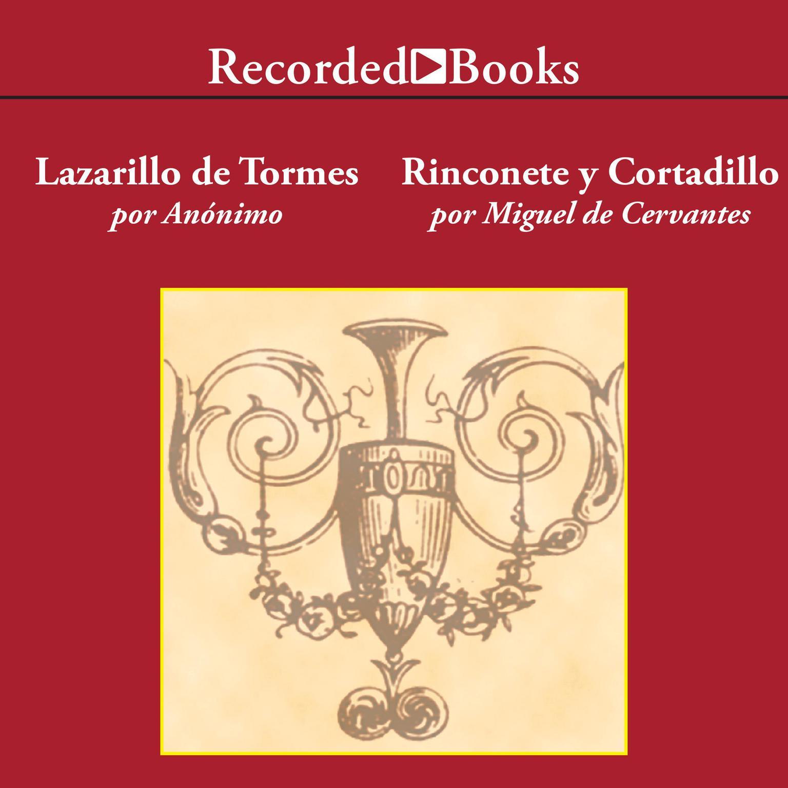 Printable El Lazarillo de Tormes/ Rinconete y Cortadillo Audiobook Cover Art