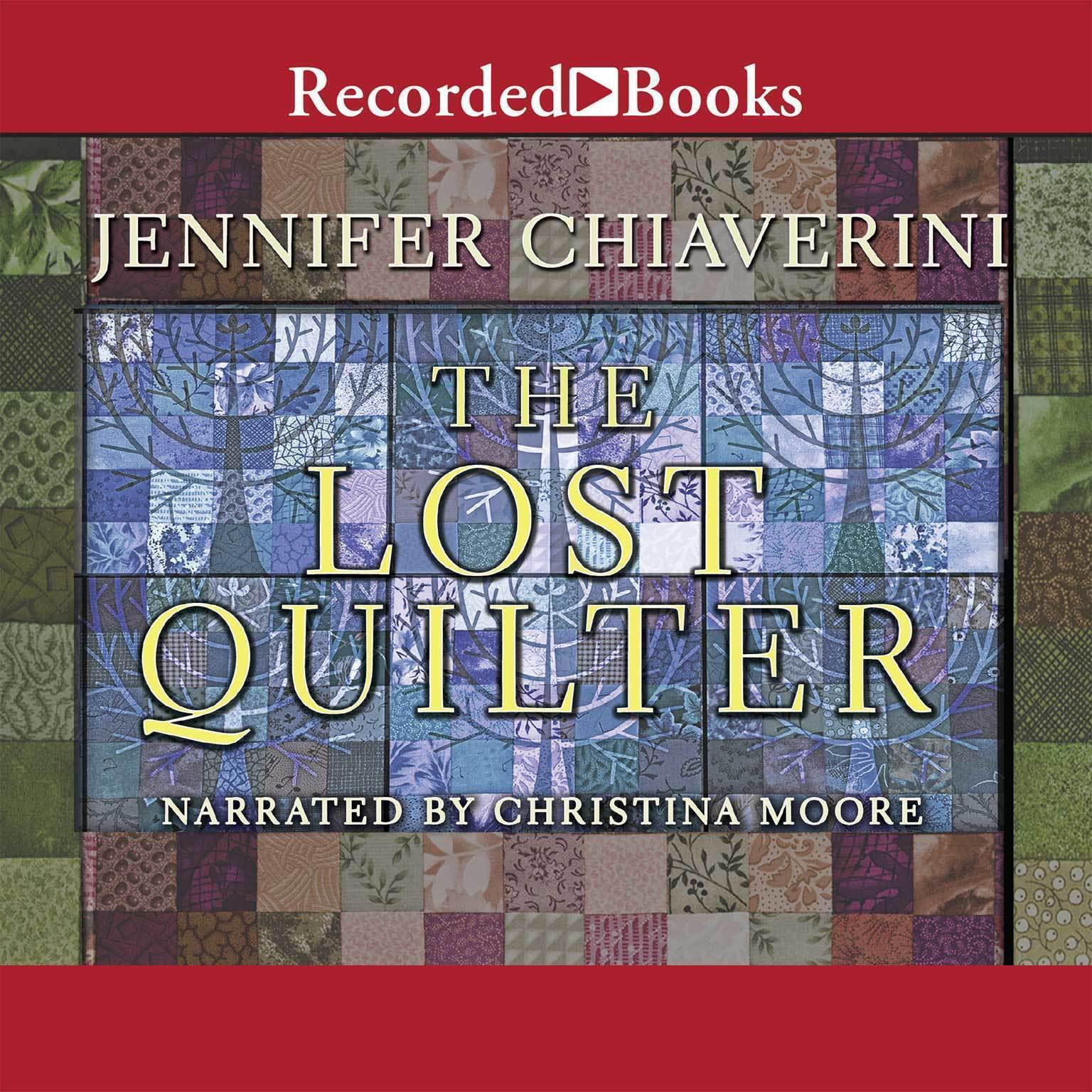 Printable The Lost Quilter Audiobook Cover Art