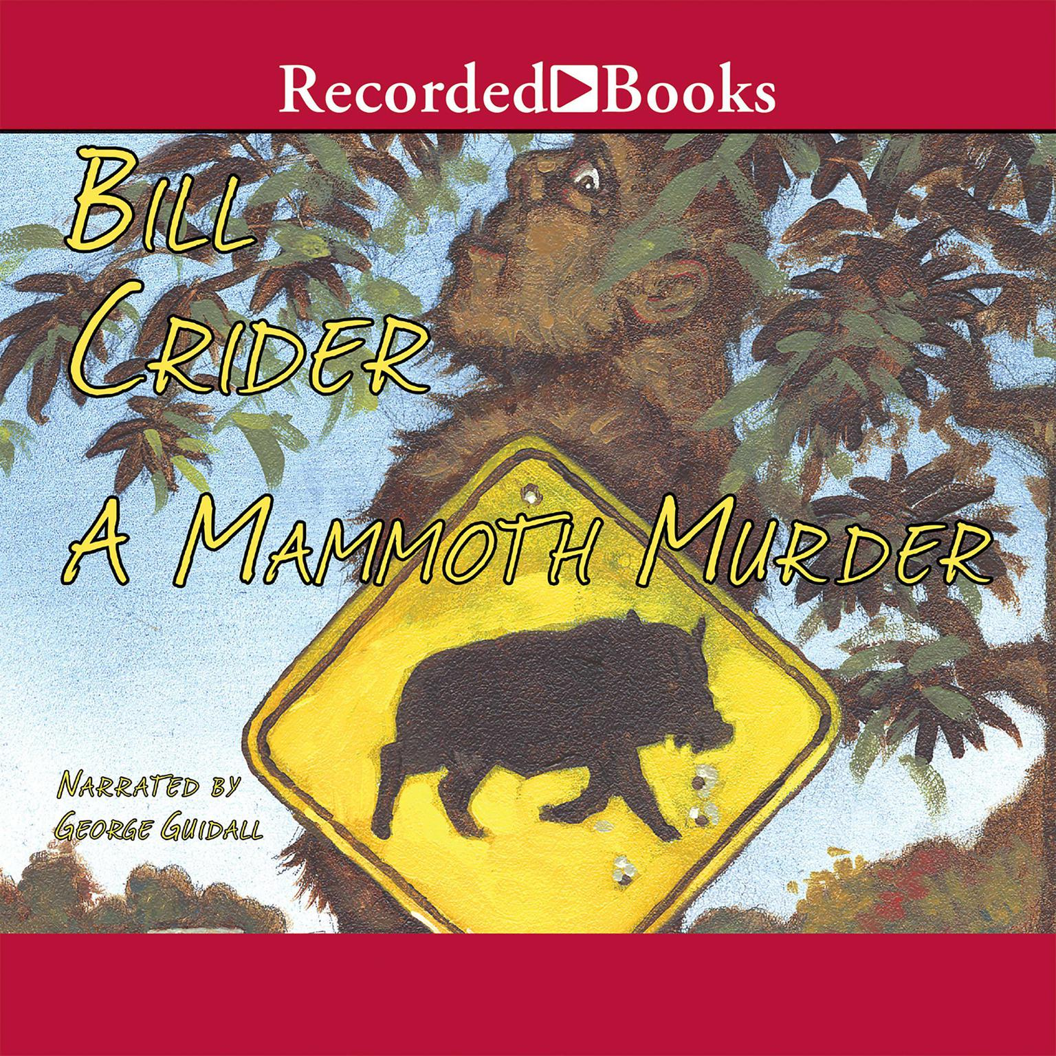 Printable A Mammoth Murder Audiobook Cover Art