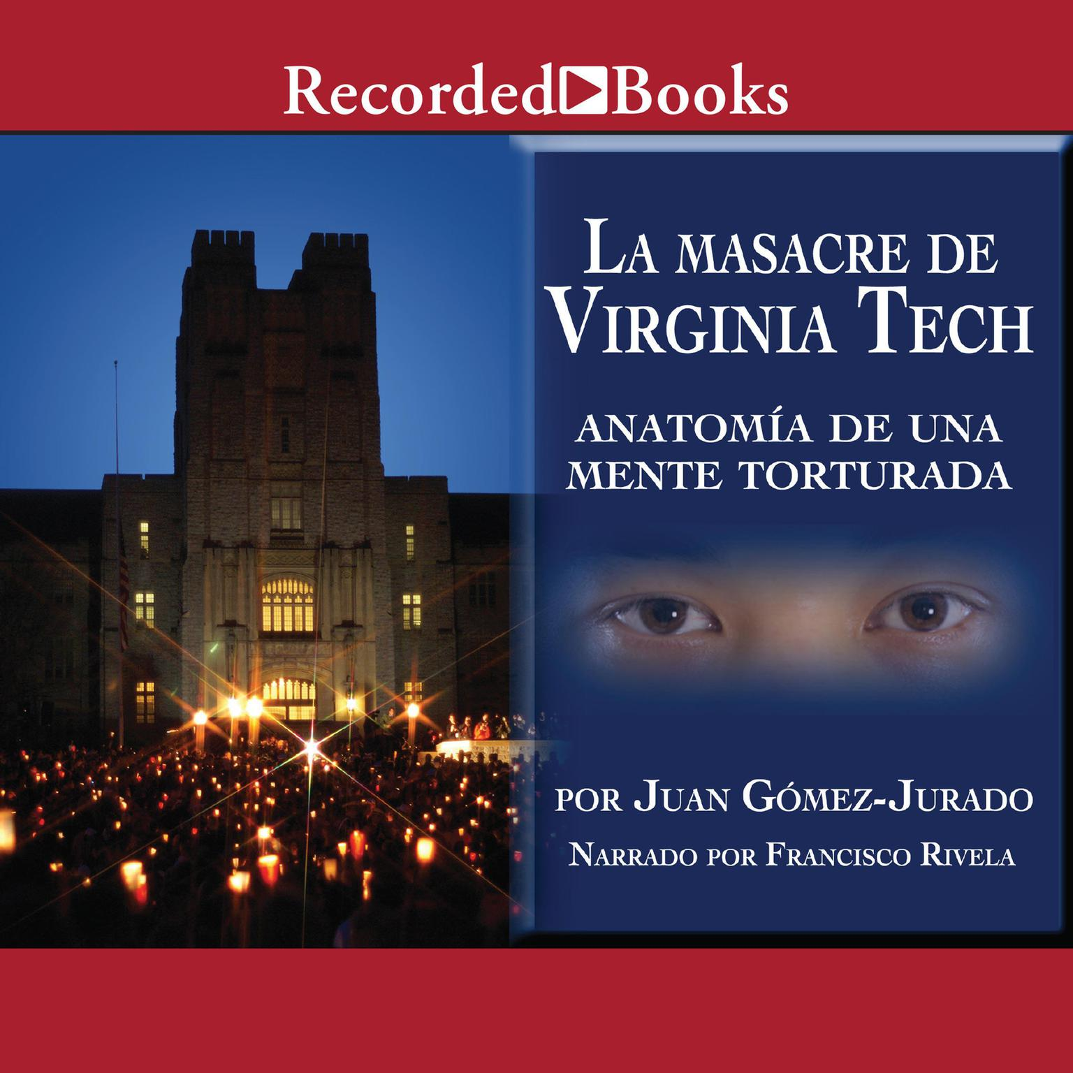 Printable La masacre de Virginia Tech Audiobook Cover Art