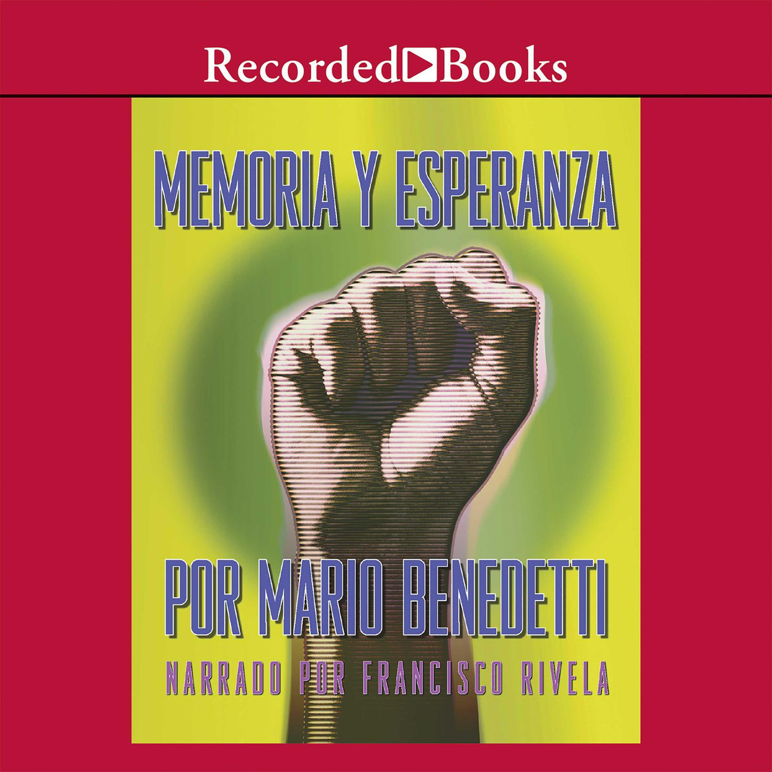 Printable Memoria y Esperanza Audiobook Cover Art
