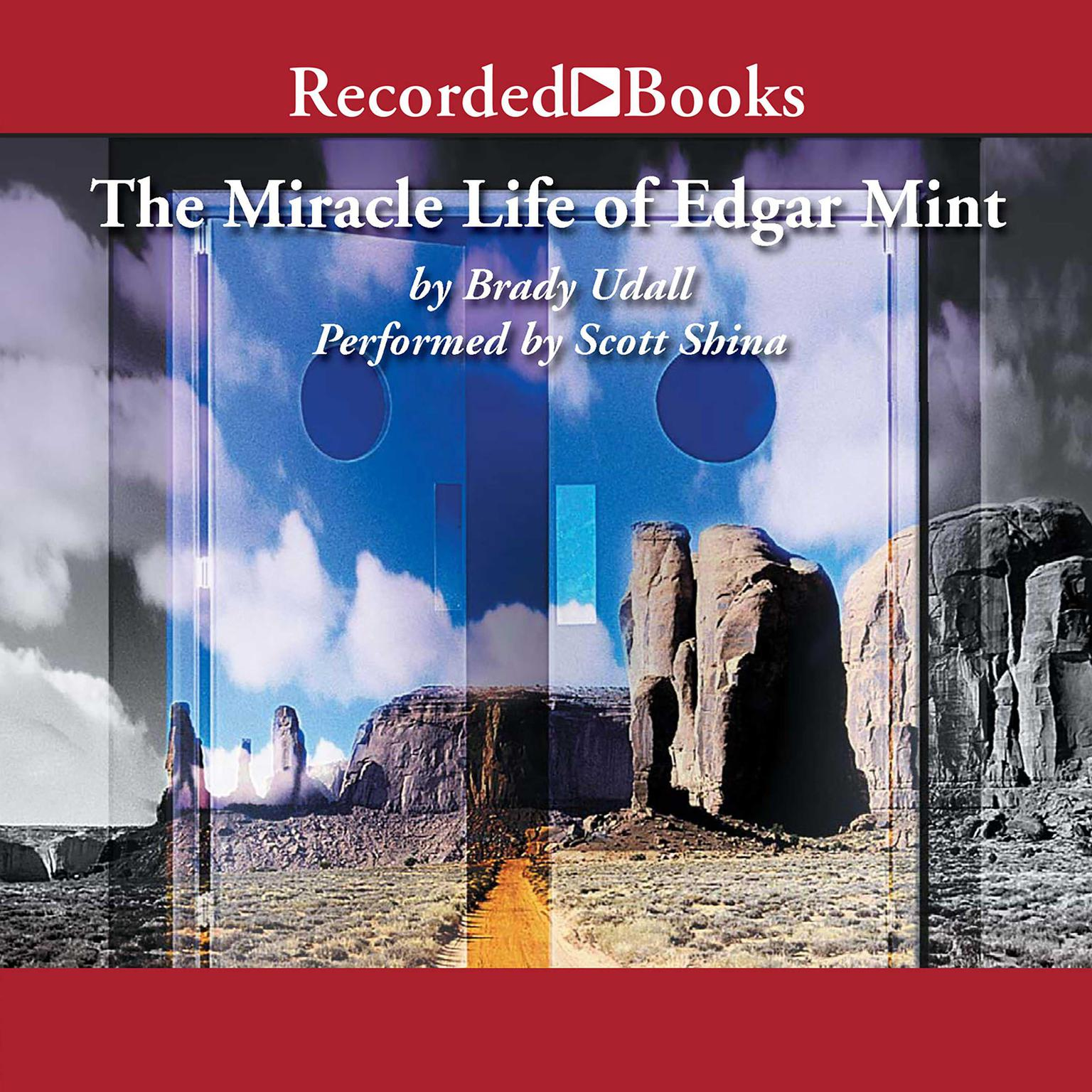 Printable The Miracle Life of Edgar Mint Audiobook Cover Art