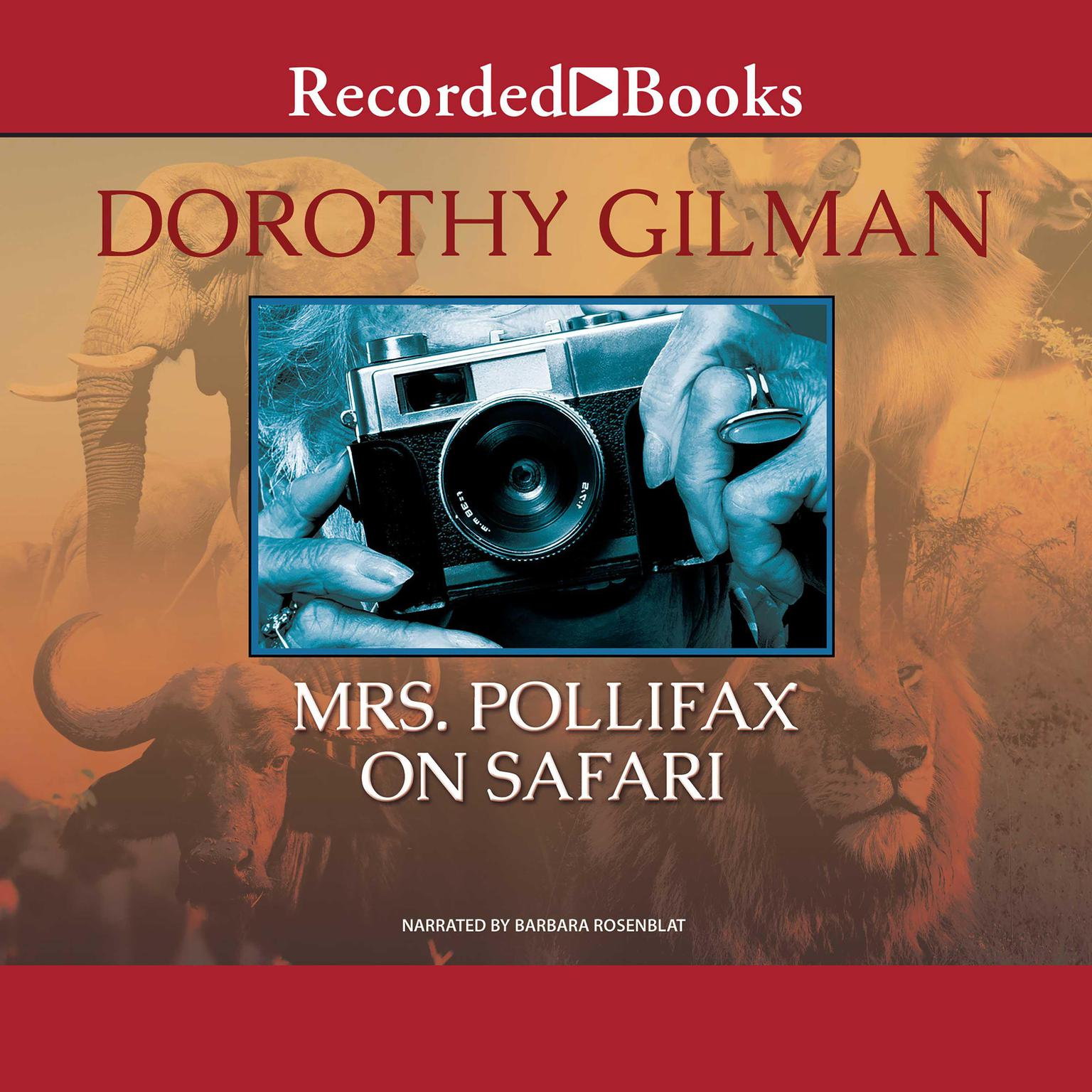 Printable Mrs. Pollifax on Safari Audiobook Cover Art