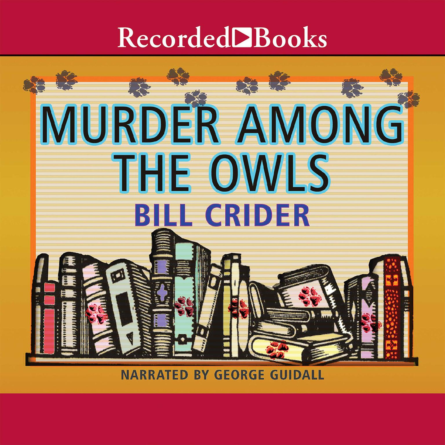 Printable Murder Among the Owls Audiobook Cover Art