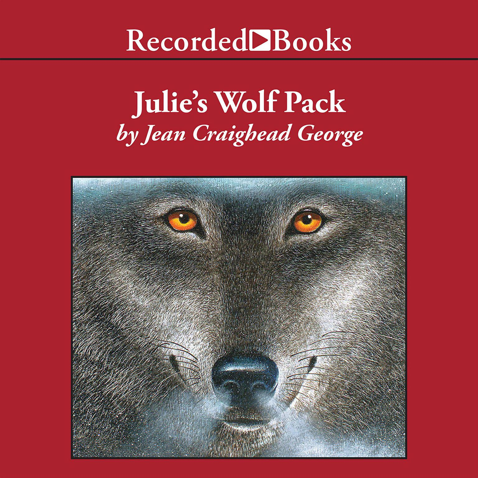 Printable Julie's Wolf Pack Audiobook Cover Art
