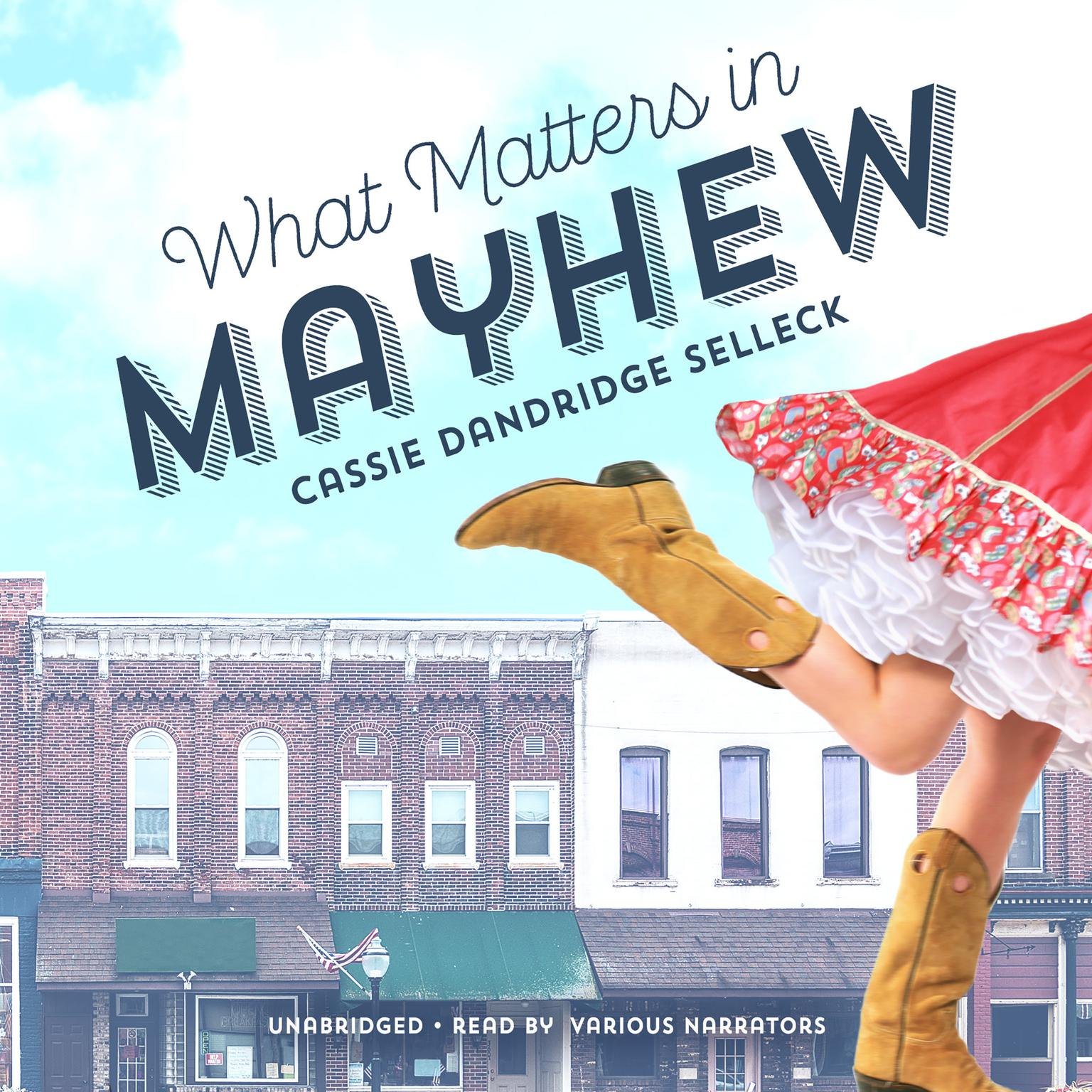Printable What Matters in Mayhew Audiobook Cover Art