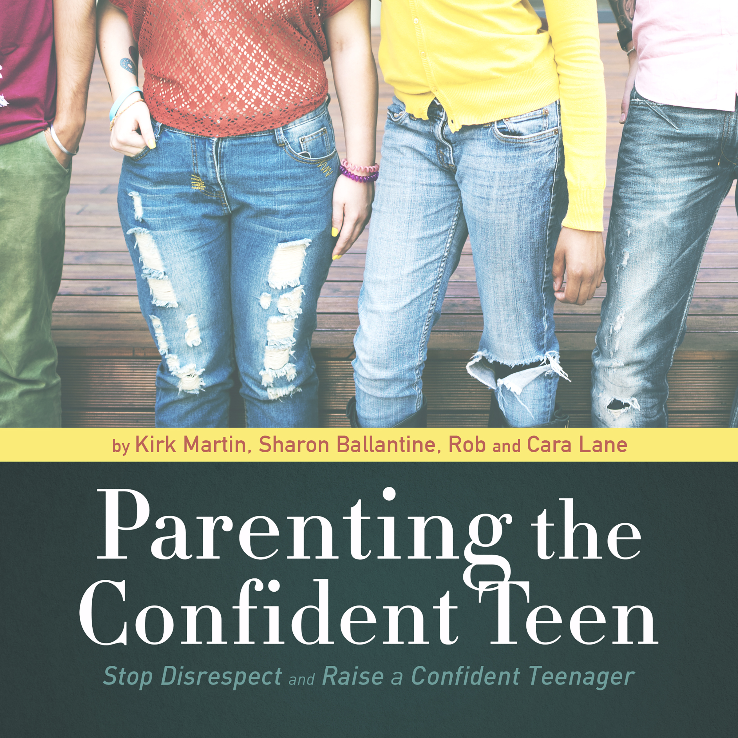 Printable Parenting the Confident Teen: Stop Disrespect and Raise a Confident Teenager Audiobook Cover Art
