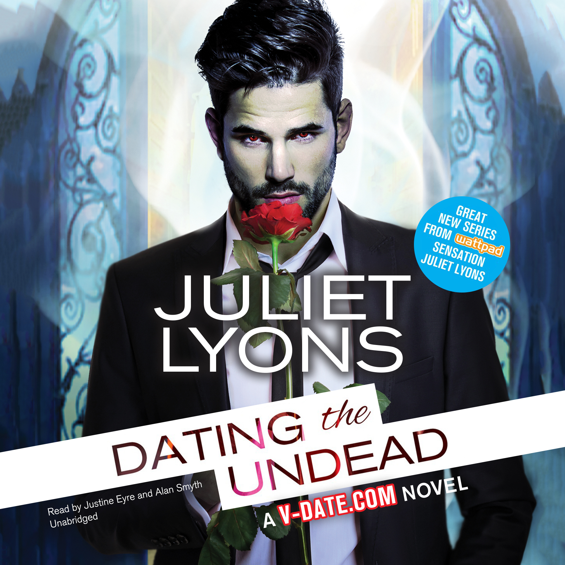 Printable Dating the Undead Audiobook Cover Art