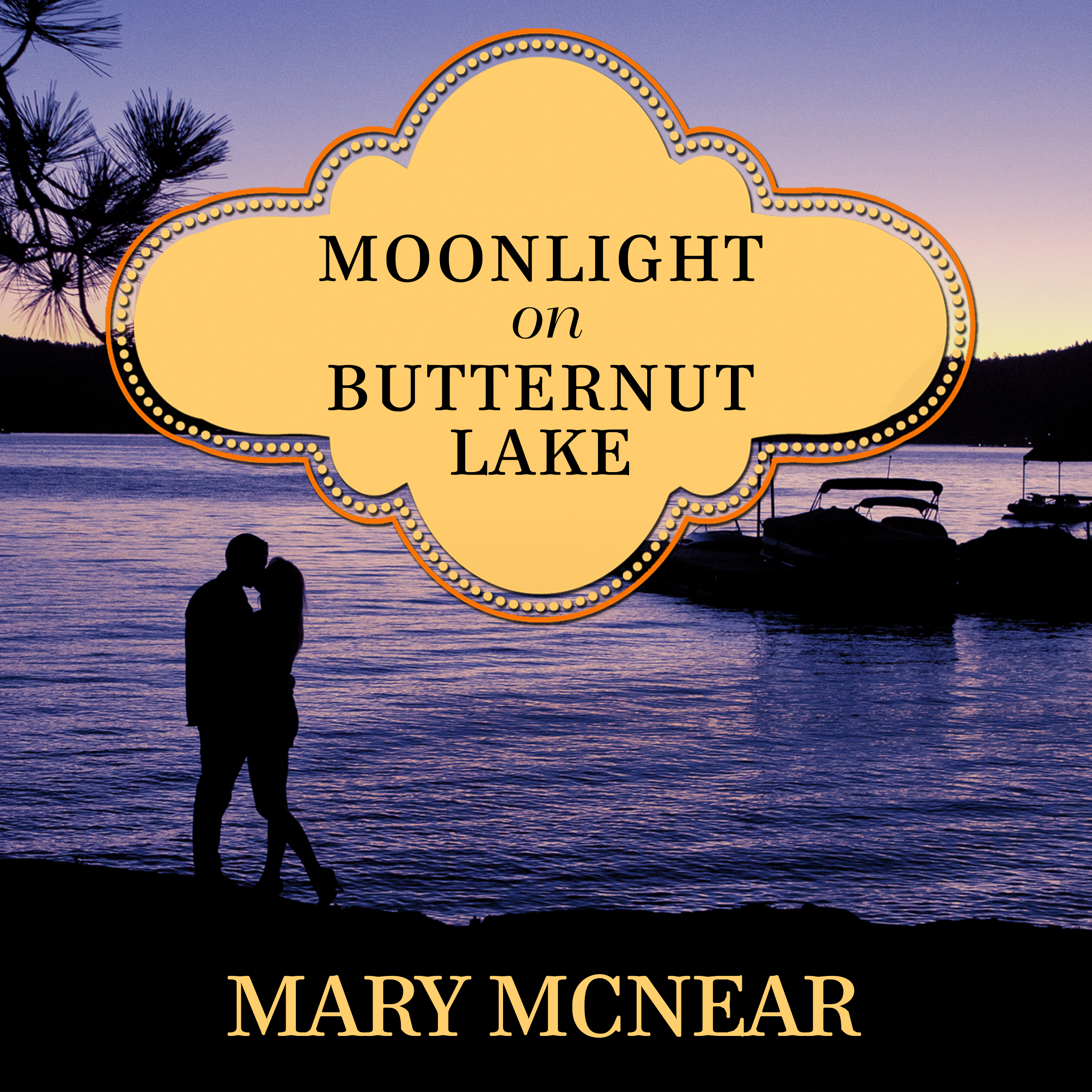 Printable Moonlight on Butternut Lake Audiobook Cover Art