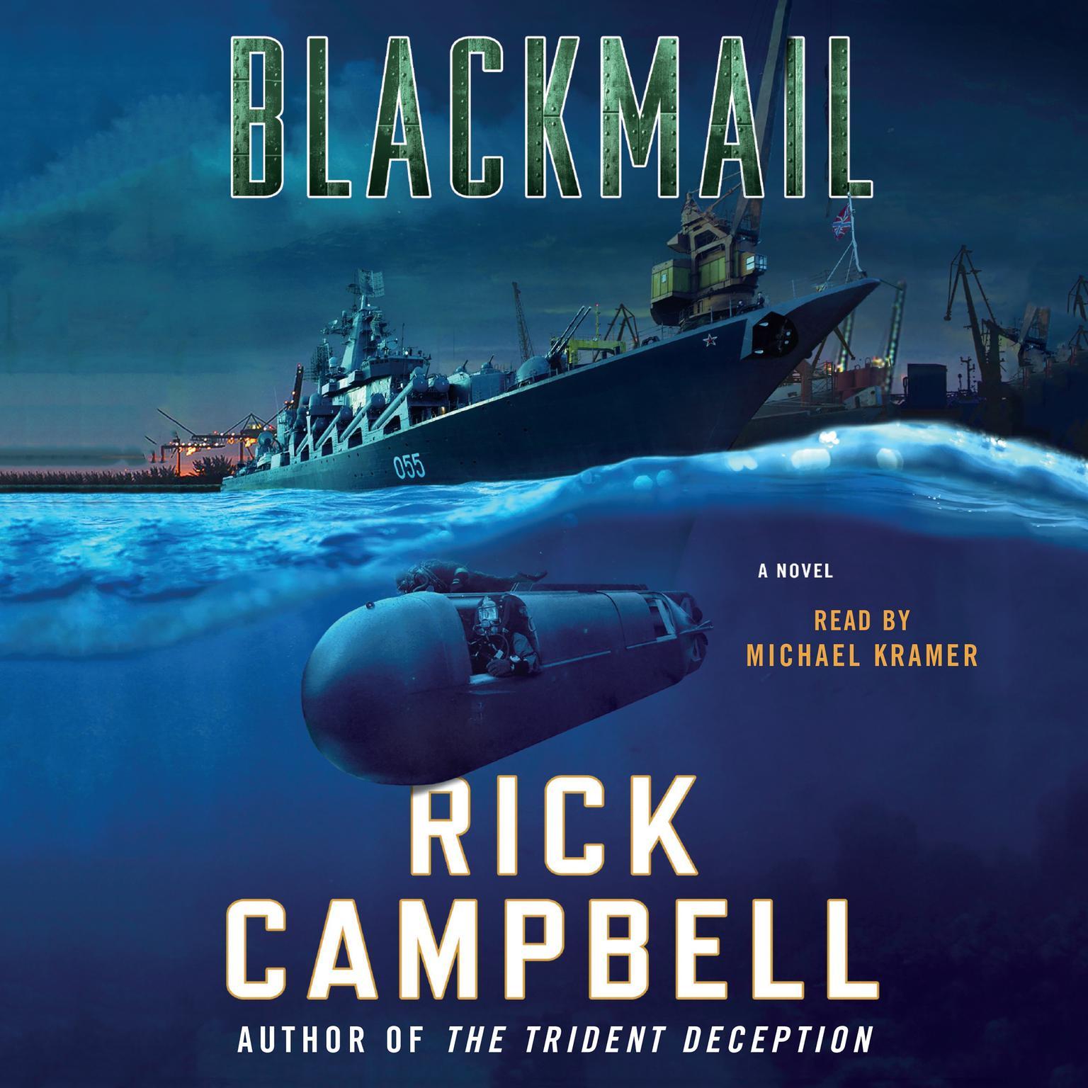 Printable Blackmail: A Novel Audiobook Cover Art