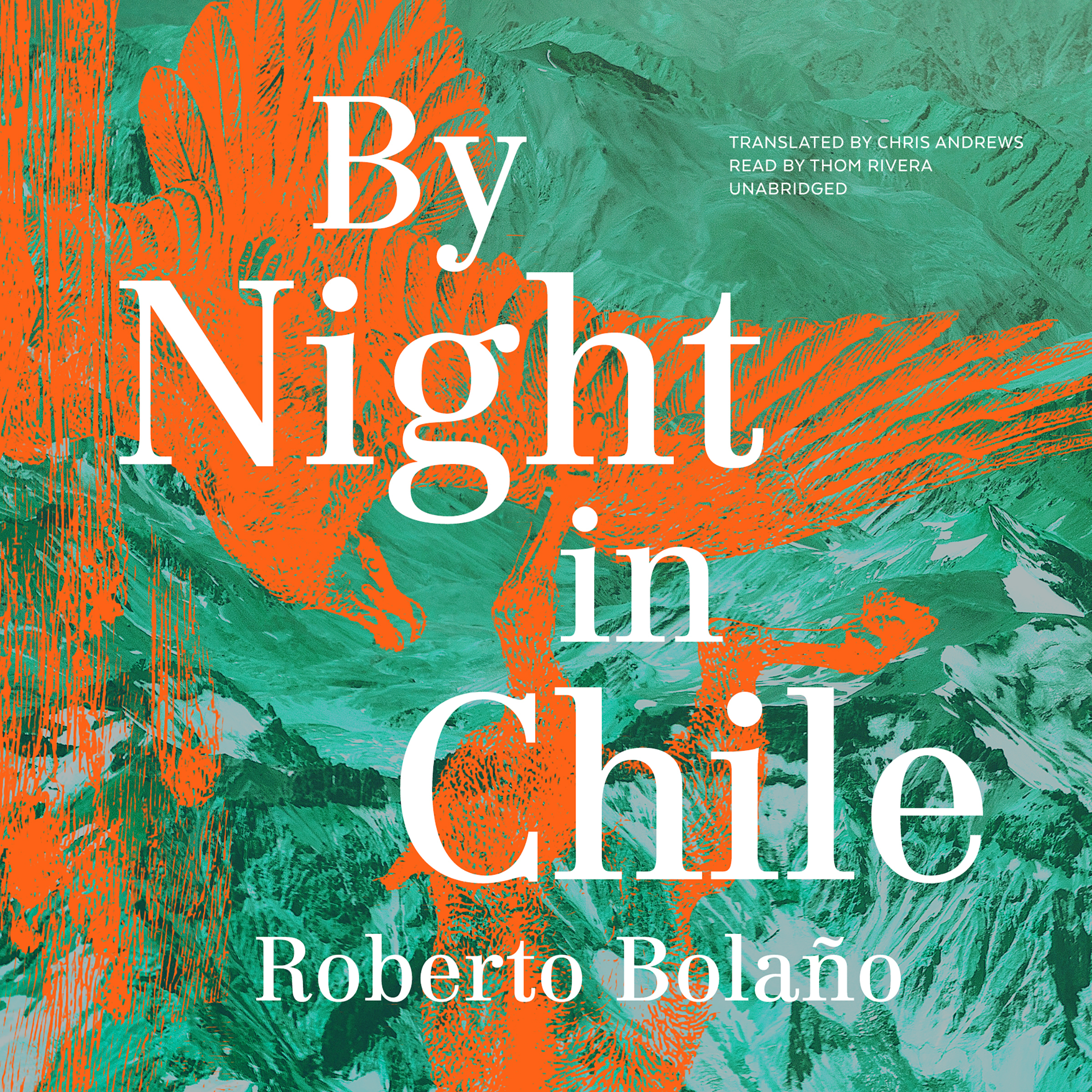 Printable By Night in Chile Audiobook Cover Art