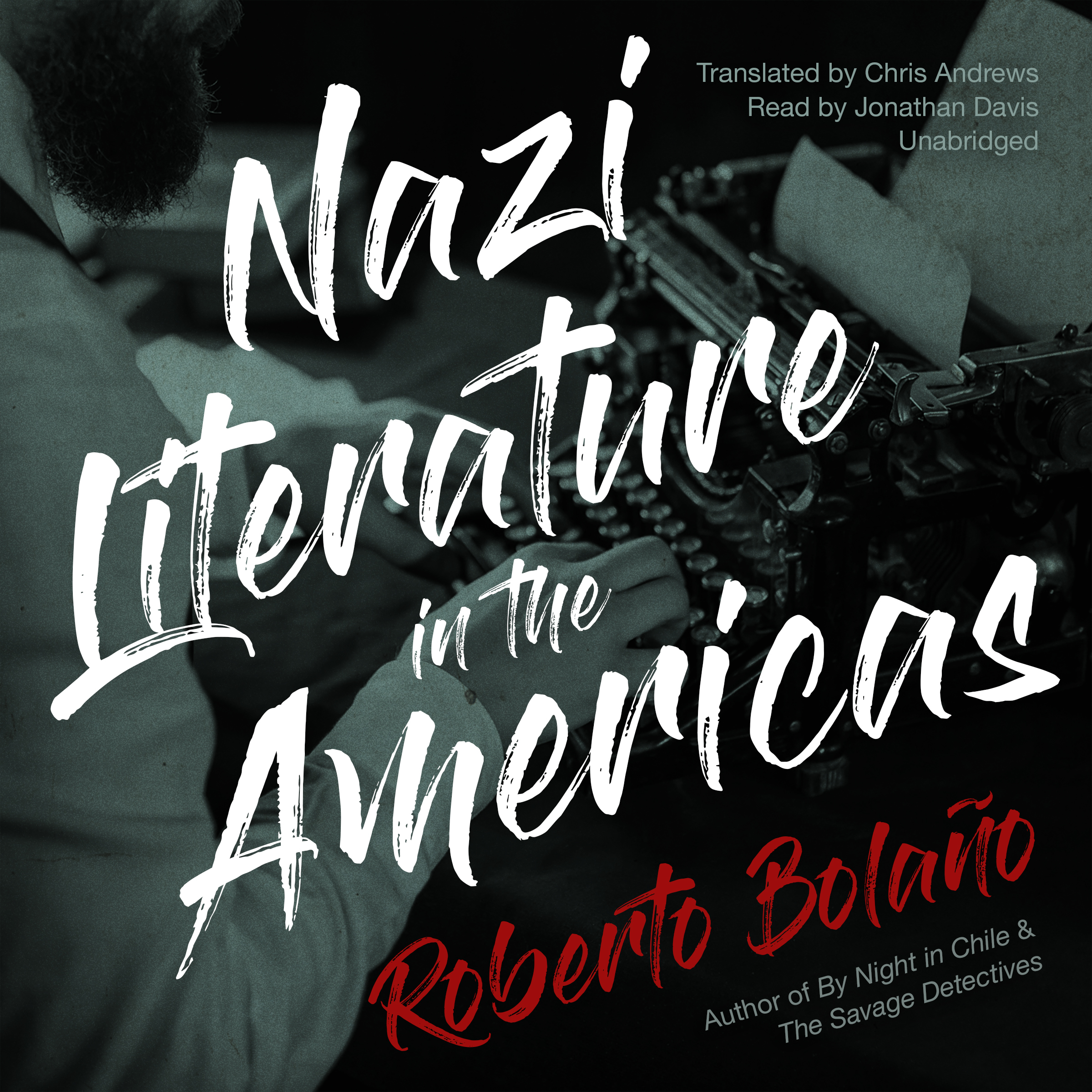 Printable Nazi Literature in the Americas Audiobook Cover Art