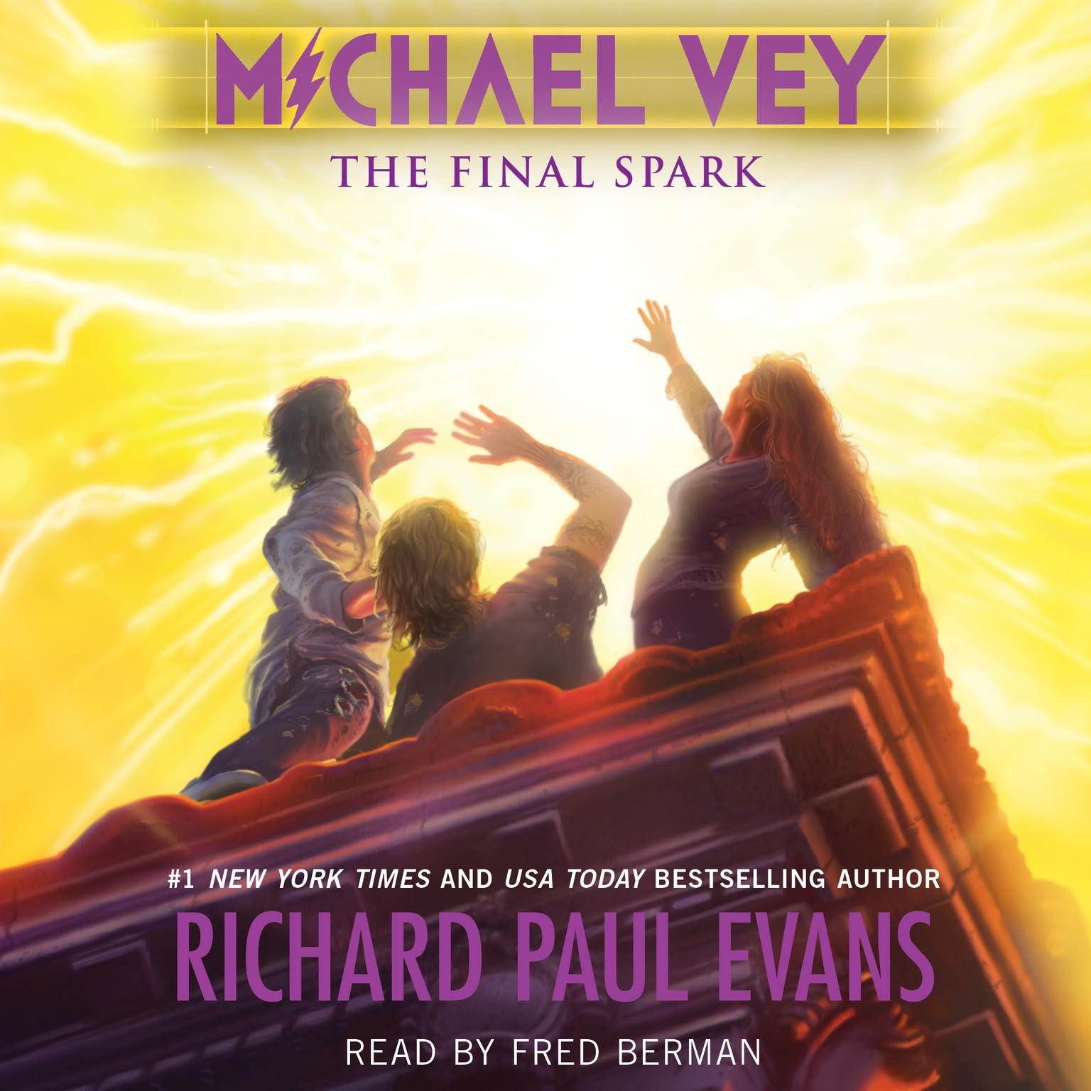 Printable Michael Vey 7: The Final Spark Audiobook Cover Art
