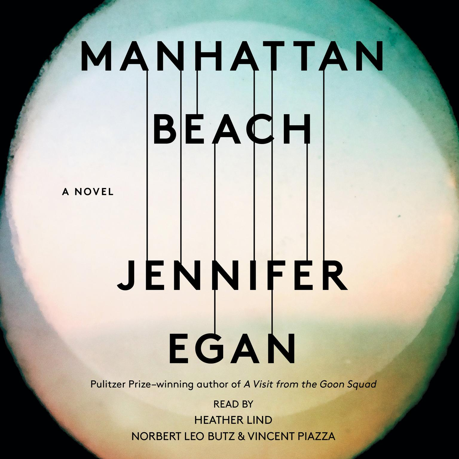 Printable Manhattan Beach: A Novel Audiobook Cover Art