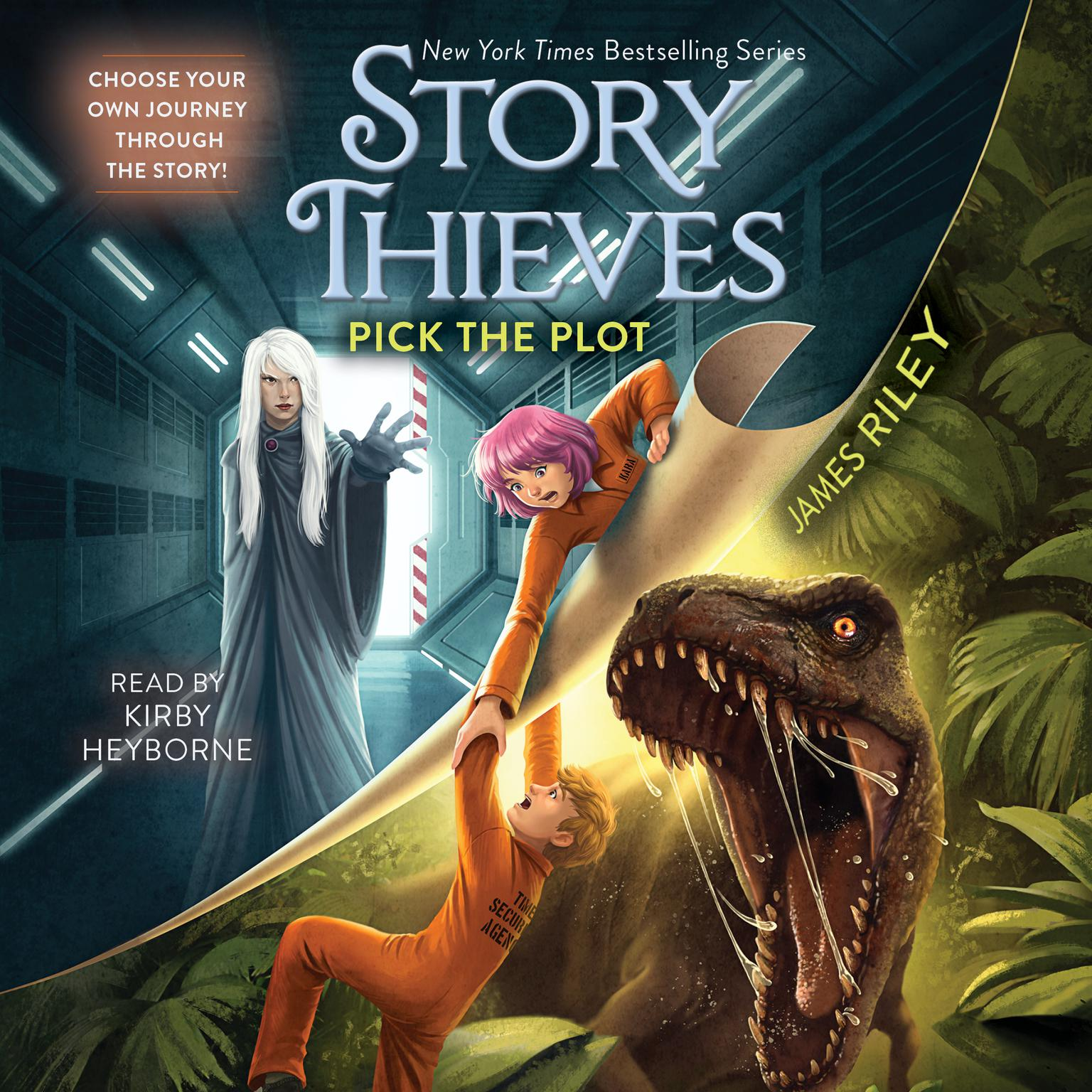 Printable Pick the Plot Audiobook Cover Art