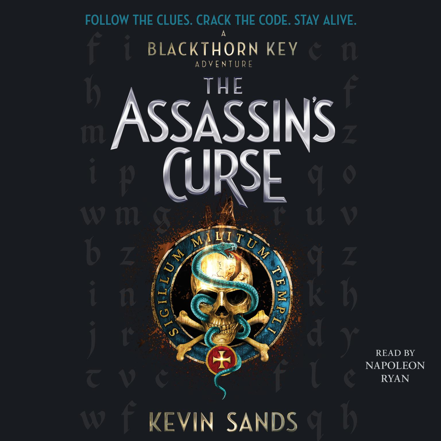 Printable The Assassin's Curse Audiobook Cover Art